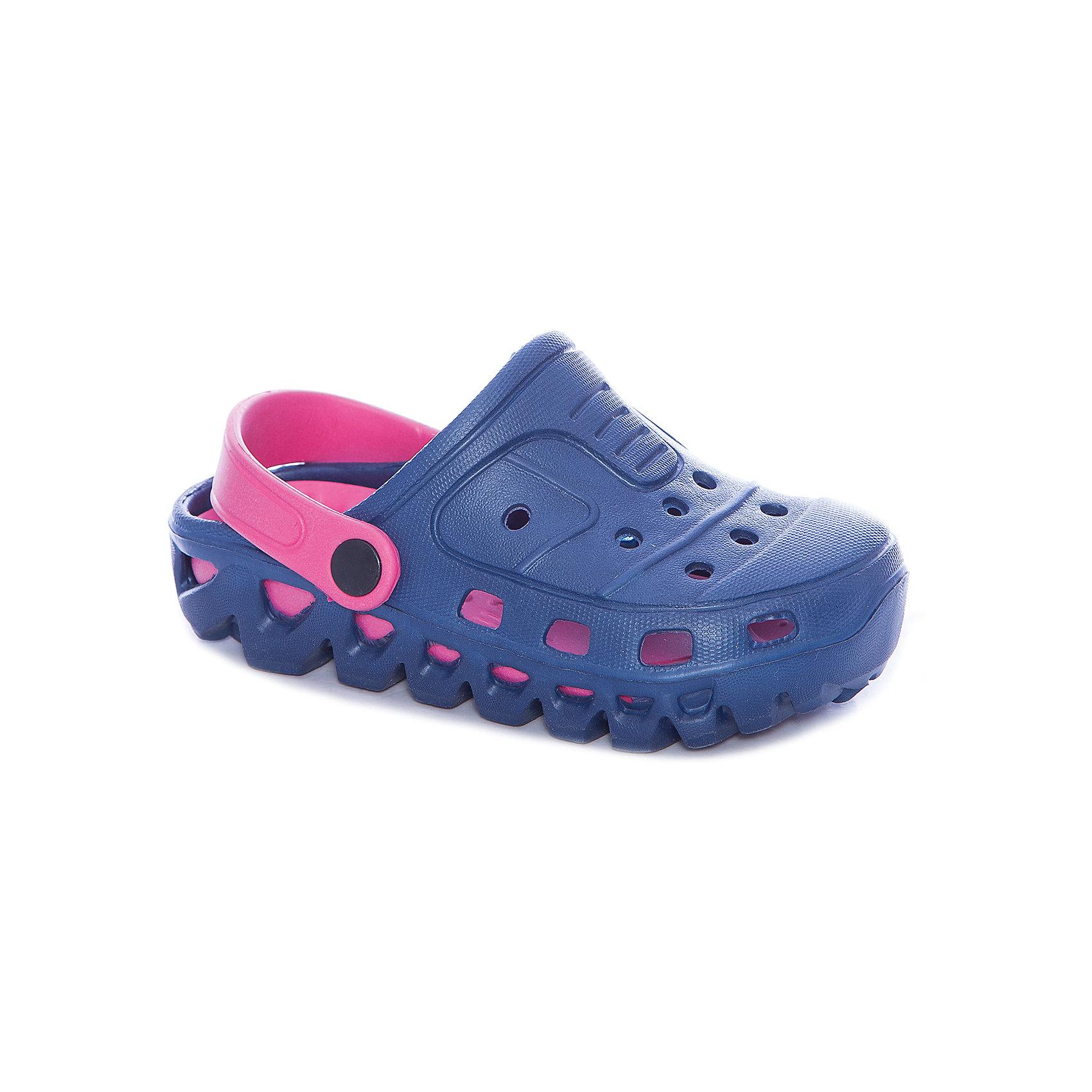 Сабо для девочки PlayTodayПляжная обувь<br>Сабо для девочки PlayToday<br>Эти удобные пантолеты прекрасно подойдут и для дачи, и для пляжа. Подвижный пяточный ремень позволяет легко снимать о одевать обувь. Перфорированная носочная часть обеспечивает хорошую вентиляцию <br><br>Преимущества: <br><br>Подвижный пяточный ремень позволяет легко снимать и одевать пантолеты<br>Перфорированная носочная часть обеспечивает хорошую вентиляцию<br><br>Состав:<br>100% этилвинилацетат<br><br>Ширина мм: 225<br>Глубина мм: 139<br>Высота мм: 112<br>Вес г: 290<br>Цвет: разноцветный<br>Возраст от месяцев: 72<br>Возраст до месяцев: 84<br>Пол: Женский<br>Возраст: Детский<br>Размер: 30,31,27,28,29<br>SKU: 5404730