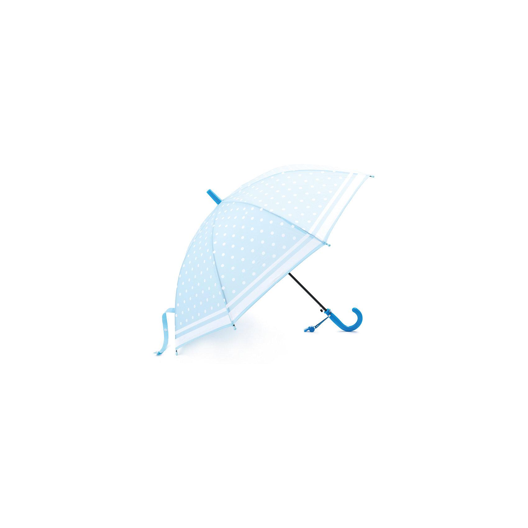 Зонт для девочки PlayTodayАксессуары<br>Зонт для девочки PlayToday<br>Этот яркий зонтик обязательно понравится Вашему ребенку! Оснащен специальной безопасной системой открывания и закрывания. Материал каркаса ветроустойчивый. Концы спиц снабжены пластмассовыми наконечниками для защиты от травм. Такой зонт идеально подойдет для прогулок в дождливую погоду. <br><br>Преимущества: <br><br>Оснащен специальной безопасной системой открывания и закрывания<br>Концы спиц снабжены пластмассовыми наконечниками для защиты от травм<br><br>Состав:<br>Каркас: 100:сталь; Купол: 100%полиэстер; Ручка:100% АБС пластик<br><br>Ширина мм: 170<br>Глубина мм: 157<br>Высота мм: 67<br>Вес г: 117<br>Цвет: голубой<br>Возраст от месяцев: 60<br>Возраст до месяцев: 144<br>Пол: Женский<br>Возраст: Детский<br>Размер: one size<br>SKU: 5404742