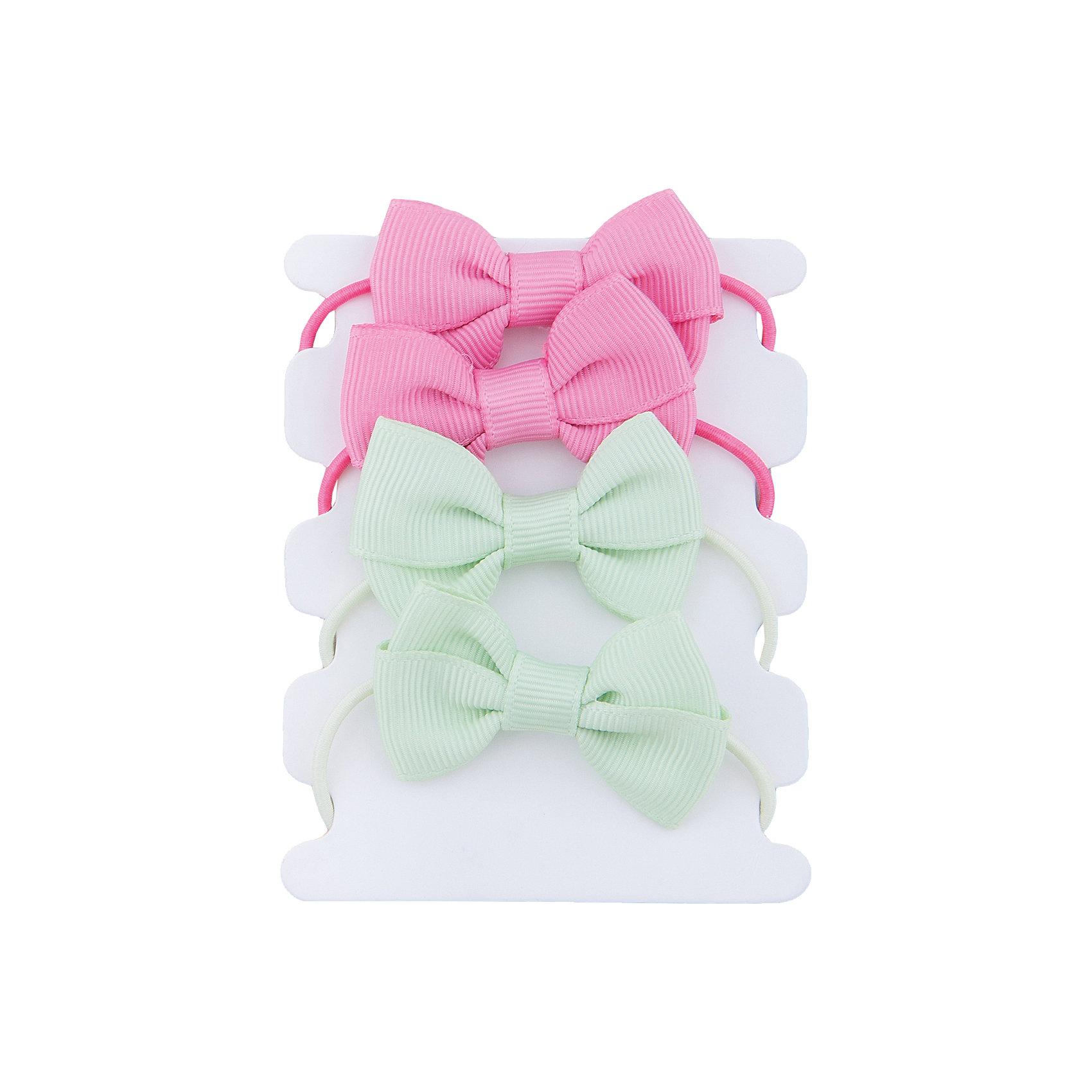 Резинки для волос для девочки PlayTodayРезинки для волос для девочки PlayToday<br>Эти яркие резинки обязательно понравятся Вашей моднице! Они позволят убрать непослушные волосы и украсить прическу. Надежно держатся.  Дополнены бантиками в цвета резинок<br>Состав:<br>95% полиэстер, 5% эластан<br><br>Ширина мм: 170<br>Глубина мм: 157<br>Высота мм: 67<br>Вес г: 117<br>Цвет: разноцветный<br>Возраст от месяцев: 60<br>Возраст до месяцев: 144<br>Пол: Женский<br>Возраст: Детский<br>Размер: one size<br>SKU: 5405000