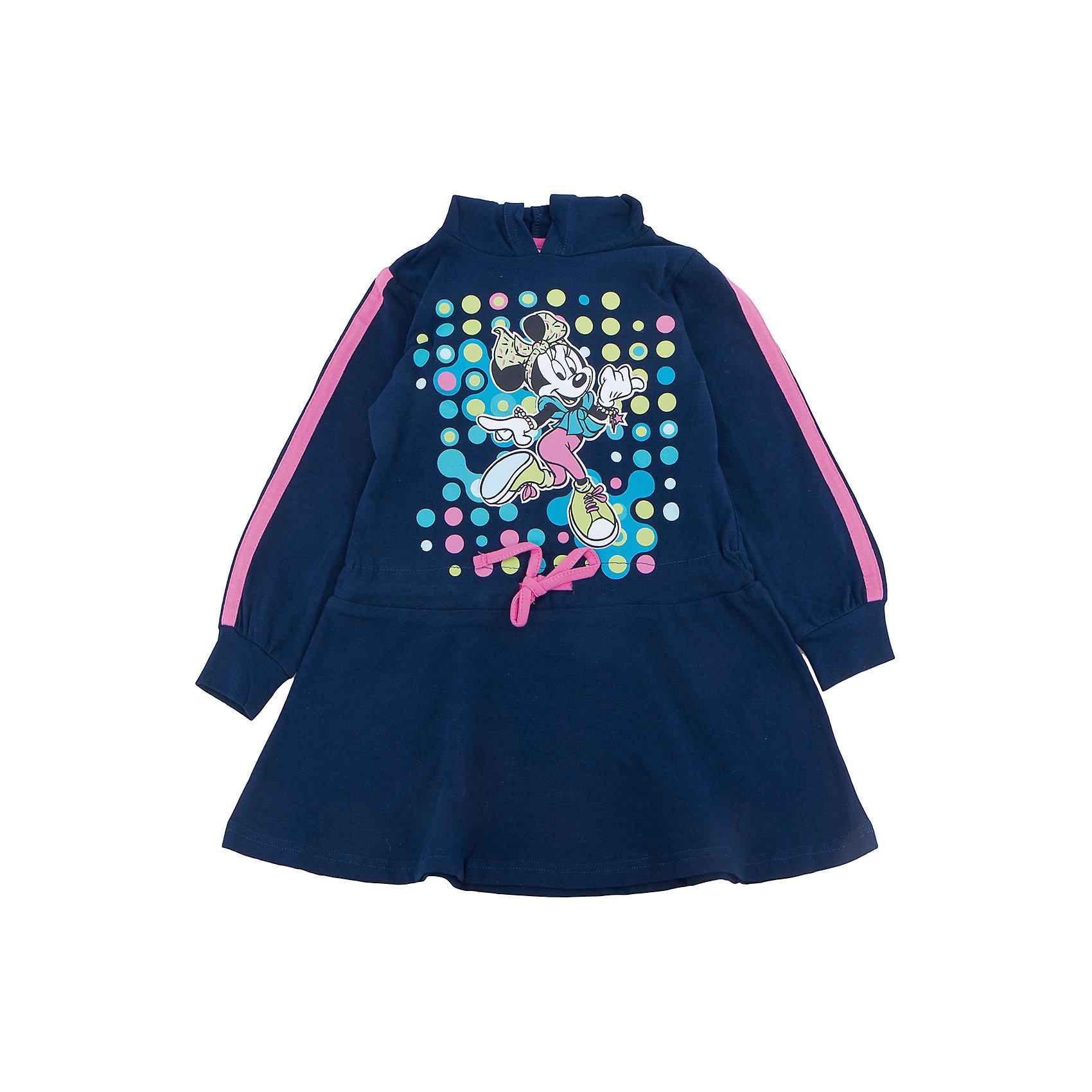 Платье для девочки PlayTodayПлатья и сарафаны<br>Характеристики товара:<br><br>• цвет: синий<br>• состав: 95% хлопок, 5% эластан<br>• декорировано принтом<br>• мягкий трикотаж<br>• дышащий материал<br>• с длинным рукавом<br>• принт<br>• комфортная посадка<br>• коллекция: весна-лето 2017<br>• страна бренда: Германия<br>• страна производства: Китай<br><br>Популярный бренд PlayToday выпустил новую коллекцию! Вещи из неё продолжают радовать покупателей удобством, стильным дизайном и продуманным кроем. Дети носят их с удовольствием. PlayToday - это линейка товаров, созданная специально для детей. Дизайнеры учитывают новые веяния моды и потребности детей. Порадуйте ребенка обновкой от проверенного производителя!<br>Такая стильная модель обеспечит ребенку комфорт благодаря качественному материалу и продуманному крою. С помощью неё можно удобно одеться по погоде. Очень модная вещь! Симпатично выглядит и долго служит.<br><br>Платье для девочки от известного бренда PlayToday можно купить в нашем интернет-магазине.<br><br>Ширина мм: 236<br>Глубина мм: 16<br>Высота мм: 184<br>Вес г: 177<br>Цвет: белый<br>Возраст от месяцев: 108<br>Возраст до месяцев: 120<br>Пол: Женский<br>Возраст: Детский<br>Размер: 140,98,104,110,116,122,128,134<br>SKU: 5405037