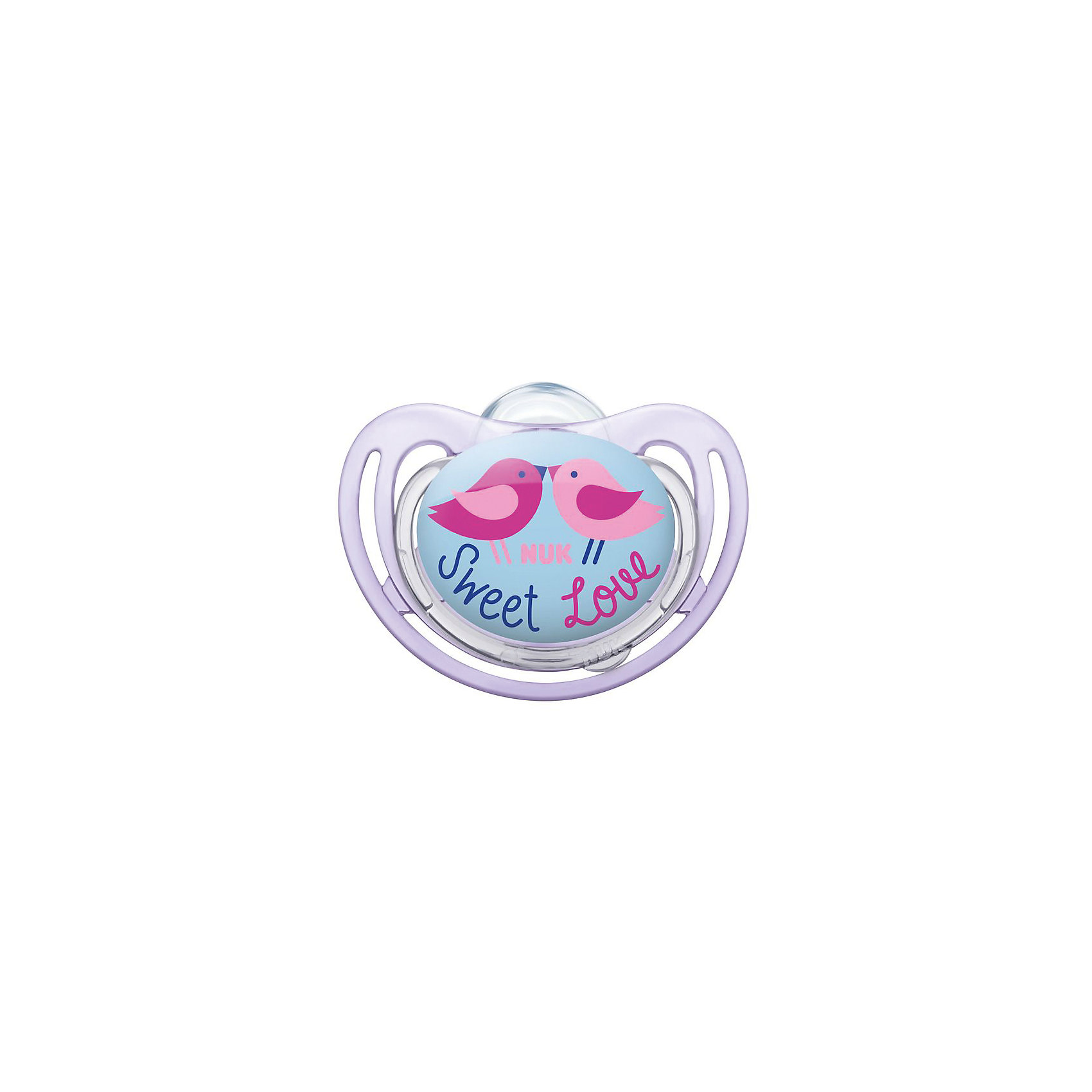 Ортодонтическая силиконовая соска-пустышка для сна