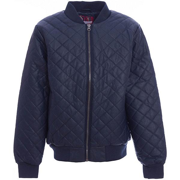 Куртка для мальчика ScoolВерхняя одежда<br>Характеристики товара:<br><br>• цвет: синий<br>• состав: 40% полиуретан, 60% вискоза<br>• подкладка: 100% полиэстер<br>• утеплитель: 100% полиэстер, 120 г/м2<br>• температурный режим: от +5°С до +15°С<br>• стеганая<br>• водоотталкивающая пропитка<br>• удобные карманы<br>• молния<br>• мягкие манжеты<br>• светоотражающие элементы<br>• воротник-стойка<br>• страна бренда: Германия<br>• страна производства: Китай<br><br>Утепленная куртка для мальчика Scool. Практичная стильная стеганая куртка со специальной водоотталкивающей пропиткой  - прекрасное решение для прохладной погоды. Мягкие трикотажные резинки на рукавах защитят вашего ребенка - ветер не сможет проникнуть под куртку.  Светоотражатель по низу изделия позволит видеть ребенка в темное время суток.<br><br>Куртку для мальчика от известного бренда Scool можно купить в нашем интернет-магазине.<br><br>Ширина мм: 356<br>Глубина мм: 10<br>Высота мм: 245<br>Вес г: 519<br>Цвет: темно-синий<br>Возраст от месяцев: 156<br>Возраст до месяцев: 168<br>Пол: Мужской<br>Возраст: Детский<br>Размер: 164,134,158,152,146,140<br>SKU: 5406515