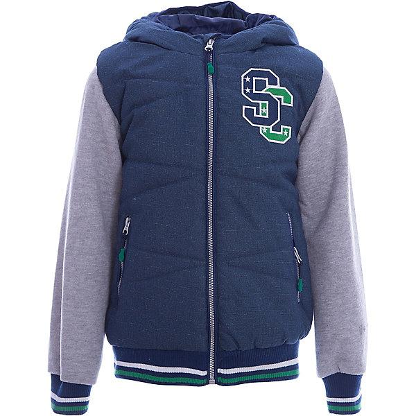 Куртка для мальчика ScoolВерхняя одежда<br>Характеристики товара:<br><br>• цвет: зелёный/серый<br>• состав: 100% полиэстер<br>• подкладка: 100% полиэстер<br>• утеплитель: 100% полиэстер, 150 г/м2<br>• температурный режим: от +5°С до +15°С<br>• декорирована аппликацией<br>• водоотталкивающая пропитка<br>• защита подбородка от молнии<br>• удобные карманы<br>• молния<br>• мягкие манжеты<br>• светоотражающие элементы<br>• капюшон не остёгивается<br>• страна бренда: Германия<br>• страна производства: Китай<br><br>Эффектная утепленная куртка на молнии с капюшоном прекрасно подойдет ребенку в прохладную погоду. Специальный карман для фиксации застежки-молнии не позволит застежке травмировать нежную кожу ребенка. Даже у самого активного ребенка капюшон не спадет с головы за счет удобной мягкой резинки. Наличие светооражателя на подоле позволит видеть ребенка в темное время суток. За счет рукавов из текстиля с начесом, такая куртка будет уместна и в прохладную погоду.<br><br>Куртку для мальчика от известного бренда Scool можно купить в нашем интернет-магазине.<br><br>Ширина мм: 356<br>Глубина мм: 10<br>Высота мм: 245<br>Вес г: 519<br>Цвет: белый<br>Возраст от месяцев: 120<br>Возраст до месяцев: 132<br>Пол: Мужской<br>Возраст: Детский<br>Размер: 146,164,158,152,140,134<br>SKU: 5406522