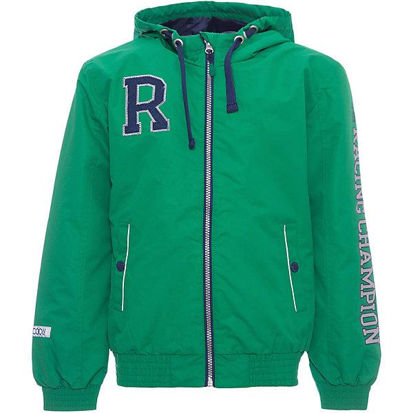 Куртка для мальчика ScoolВерхняя одежда<br>Характеристики товара:<br><br>• цвет: зеленый<br>• состав: 100% полиэстер<br>• подкладка: 100% полиэстер<br>• без утеплителя<br>• температурный режим: от +10°С до +20°С<br>• водоотталкивающая пропитка<br>• застёжка: молния с защитой подбородка<br>• два прорезных кармана на кнопках<br>• мягкие эластичные манжеты<br>• светоотражающие элементы<br>• капюшон с регулируемым шнурком-кулиской<br>• страна бренда: Германия<br>• страна производства: Китай<br><br>Куртка для мальчика Scool. Яркая ветровка из плотной водоотталкивающей ткани на подкладке подойдет для дождливой, ветренной погоды.<br><br>Куртку для мальчика от известного бренда Scool можно купить в нашем интернет-магазине.<br>Ширина мм: 356; Глубина мм: 10; Высота мм: 245; Вес г: 519; Цвет: белый; Возраст от месяцев: 156; Возраст до месяцев: 168; Пол: Мужской; Возраст: Детский; Размер: 164,134,140,146,152,158; SKU: 5406529;