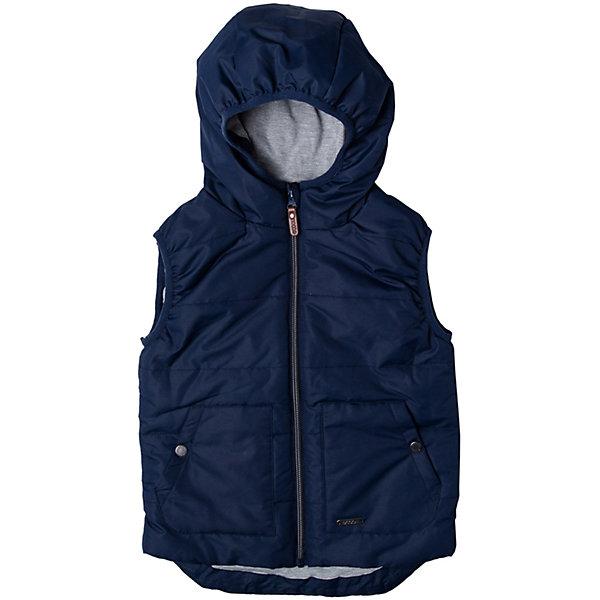 Жилет для мальчика ScoolВерхняя одежда<br>Характеристики товара:<br><br>• цвет: синий<br>• состав: 100% полиэстер<br>• подкладка: 65% полиэстер, 35% хлопок,<br>• утеплитель: 100% полиэстер, 120 г/м2<br>• температурный режим: от +5°С до +15°С<br>• подкладка из мягкого трикотажа<br>• водоотталкивающая пропитка<br>• удобные карманы<br>• застёжка: молния с защитой подбородка<br>• эластичные проймы для рукавов<br>• светоотражающие элементы на подоле<br>• капюшон на мягкой резинке<br>• страна бренда: Германия<br>• страна производства: Китай<br><br>Жилет для мальчика Scool. Утепленный жилет с капюшоном с водооталкивающей пропиткой - замечательное решение для весны.<br><br>Жилет для мальчика от известного бренда Scool можно купить в нашем интернет-магазине.<br><br>Ширина мм: 356<br>Глубина мм: 10<br>Высота мм: 245<br>Вес г: 519<br>Цвет: белый<br>Возраст от месяцев: 132<br>Возраст до месяцев: 144<br>Пол: Мужской<br>Возраст: Детский<br>Размер: 152,134,164,158,146,140<br>SKU: 5406536