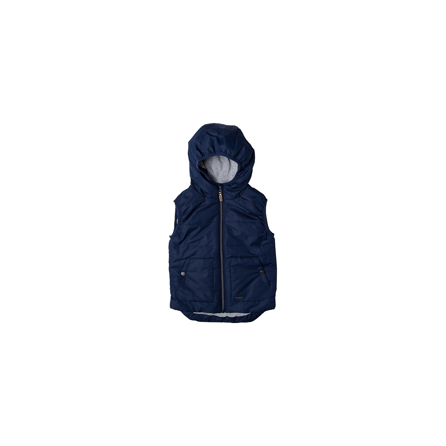 Жилет для мальчика ScoolВерхняя одежда<br>Характеристики товара:<br><br>• цвет: синий<br>• состав: 100% полиэстер<br>• подкладка: 65% полиэстер, 35% хлопок,<br>• утеплитель: 100% полиэстер, 120 г/м2<br>• температурный режим: от +5°С до +15°С<br>• подкладка из мягкого трикотажа<br>• водоотталкивающая пропитка<br>• удобные карманы<br>• застёжка: молния с защитой подбородка<br>• эластичные проймы для рукавов<br>• светоотражающие элементы на подоле<br>• капюшон на мягкой резинке<br>• страна бренда: Германия<br>• страна производства: Китай<br><br>Жилет для мальчика Scool. Утепленный жилет с капюшоном с водооталкивающей пропиткой - замечательное решение для весны.<br><br>Жилет для мальчика от известного бренда Scool можно купить в нашем интернет-магазине.<br><br>Ширина мм: 356<br>Глубина мм: 10<br>Высота мм: 245<br>Вес г: 519<br>Цвет: разноцветный<br>Возраст от месяцев: 156<br>Возраст до месяцев: 168<br>Пол: Мужской<br>Возраст: Детский<br>Размер: 164,134,140,146,152,158<br>SKU: 5406536