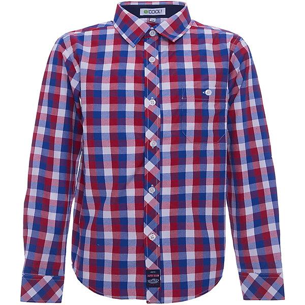 Рубашка для мальчика ScoolБлузки и рубашки<br>Характеристики товара:<br><br>• цвет: красный/синий<br>• состав: 80% хлопок, 20% полиэстер<br>• отложной воротник<br>• застежка: пуговицы<br>• качественный материал<br>• уплотненные манжеты<br>• нагрудный карман на пуговице<br>• страна бренда: Германия<br>• страна производства: Китай<br><br>Рубашка в клетку для мальчика Scool. Эффектная рубашка с длинным рукавом для мальчика в стиле кантри.  Практична и очень удобна для повседневной носки. Ткань  мягкая и приятная на ощупь, не раздражает нежную детскую кожу.<br><br>Сорочку для мальчика от известного бренда Scool можно купить в нашем интернет-магазине.<br>Ширина мм: 190; Глубина мм: 74; Высота мм: 229; Вес г: 236; Цвет: белый; Возраст от месяцев: 156; Возраст до месяцев: 168; Пол: Мужской; Возраст: Детский; Размер: 164,152,158,134,140,146; SKU: 5406557;