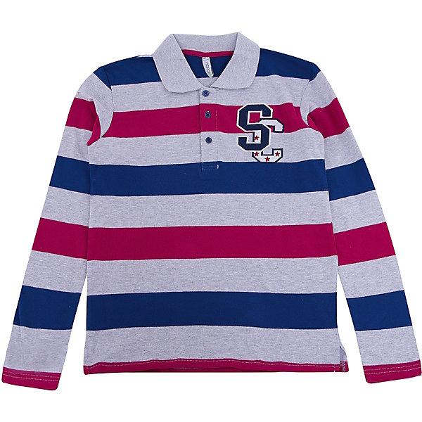 Купить Рубашка-поло для мальчика S'cool, Китай, белый, 164, 134, 158, 152, 146, 140, Мужской