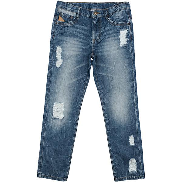 Джинсы для мальчика ScoolДжинсы<br>Характеристики товара:<br><br>• цвет: синий<br>• состав: 80% хлопок, 20% полиэстер<br>• классический силуэт<br>• джинсв со шлёвками для ремня<br>• карманы <br>• эффект потертостей<br>• страна бренда: Германия<br>• страна производства: Китай<br><br>Классические джинсы для мальчика Scool. Джинсы с потертостями и прорезями из натуральной ткани прекрасно подойдут ребенку для отдыха и прогулок. Модель снабжена шлевками для ремня. Мягкая ткань не сковывает движений ребенка.<br><br>Джинсы для мальчика от известного бренда Scool можно купить в нашем интернет-магазине.<br>Ширина мм: 215; Глубина мм: 88; Высота мм: 191; Вес г: 336; Цвет: синий; Возраст от месяцев: 156; Возраст до месяцев: 168; Пол: Мужской; Возраст: Детский; Размер: 164,134,158,152,146,140; SKU: 5406700;