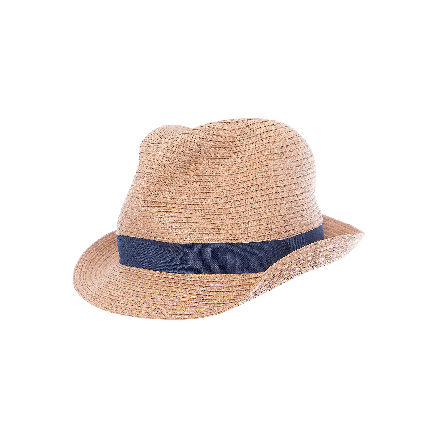 Панама для мальчика ScoolГоловные уборы<br>Характеристики товара:<br><br>• цвет: светло-коричневый<br>• состав: 100% бумажная соломка<br>• сезон: лето<br>• декорирована лентой<br>• защищает от солнца<br>• страна бренда: Германия<br>• страна производства: Китай<br><br>Соломенная панама для мальчика Scool. Стильная шляпа из натуральной соломки защитит Вашего ребенка в жаркую погоду. Материал не раздражает кожу ребенка. Комфортна при носке.<br><br>Панаму для мальчика от известного бренда Scool можно купить в нашем интернет-магазине.<br><br>Ширина мм: 89<br>Глубина мм: 117<br>Высота мм: 44<br>Вес г: 155<br>Цвет: светло-коричневый<br>Возраст от месяцев: 60<br>Возраст до месяцев: 6<br>Пол: Мужской<br>Возраст: Детский<br>Размер: 54,56<br>SKU: 5406788