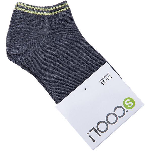 Носки для мальчика ScoolНоски<br>Характеристики товара:<br><br>• цвет: серый<br>• состав: 75% хлопок, 22% нейлон, 3% эластан<br>• короткие<br>• мягкая резинка<br>• плотно прилегают<br>• страна бренда: Германия<br>• страна производства: Китай<br><br>Однотонные носки для мальчика Scool. Короткие носки очень мягкие, из качественных материалов, приятны к телу и не сковывают движений. Хорошо пропускают воздух, тем самым позволяя коже дышать. <br><br>Носки для мальчика от известного бренда Scool можно купить в нашем интернет-магазине.<br><br>Ширина мм: 87<br>Глубина мм: 10<br>Высота мм: 105<br>Вес г: 115<br>Цвет: темно-серый<br>Возраст от месяцев: 132<br>Возраст до месяцев: 144<br>Пол: Мужской<br>Возраст: Детский<br>Размер: 22,24,20<br>SKU: 5406802