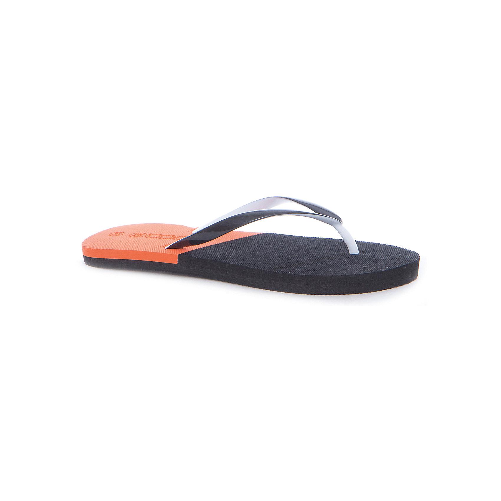 Шлепанцы для мальчика ScoolПляжная обувь<br>Характеристики товара:<br><br>• цвет: чёрный/оранжевый<br>• состав: 100% поливинилхлорид<br>• сезон: лето<br>• подходят для пляжа и для занятий в бассейне<br>• страна бренда: Германия<br>• страна производства: Китай<br><br>Пляжные шлёпанцы для мальчика Scool. Вьетнамки выполнены из мягкого водонепроницаемого материала. Контрасный сочный рисунок подошвы выгодно отличает данное изделие.<br><br>Пантолеты для мальчика от известного бренда Scool можно купить в нашем интернет-магазине.<br><br>Ширина мм: 225<br>Глубина мм: 139<br>Высота мм: 112<br>Вес г: 290<br>Цвет: разноцветный<br>Возраст от месяцев: 144<br>Возраст до месяцев: 156<br>Пол: Мужской<br>Возраст: Детский<br>Размер: 36,37,38,39,40<br>SKU: 5406836