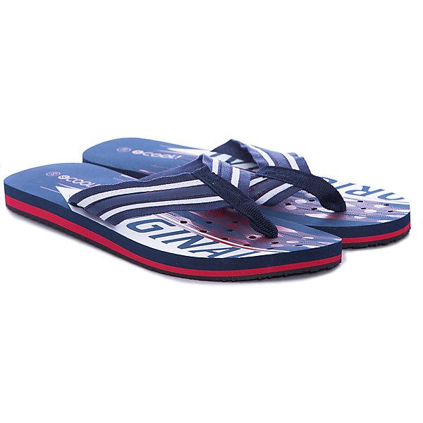 Шлепанцы для мальчика ScoolПляжная обувь<br>Характеристики товара:<br><br>• цвет: синий/красный<br>• состав: 100% поливинилхлорид<br>• сезон: лето<br>• подошва с перфорацией<br>• подходят для пляжа и для занятий в бассейне<br>• страна бренда: Германия<br>• страна производства: Китай<br><br>Пляжные шлёпанцы для мальчика Scool. Веьтнамки выполнены из мягкого водонепроницаемого материала. Контрасный рисунок подошвы выгодно отличает данное изделие. Подошва с перфорацией.<br><br>Пантолеты для мальчика от известного бренда Scool можно купить в нашем интернет-магазине.<br><br>Ширина мм: 225<br>Глубина мм: 139<br>Высота мм: 112<br>Вес г: 290<br>Цвет: белый<br>Возраст от месяцев: 168<br>Возраст до месяцев: 1188<br>Пол: Мужской<br>Возраст: Детский<br>Размер: 39,36,40,38,37<br>SKU: 5406842