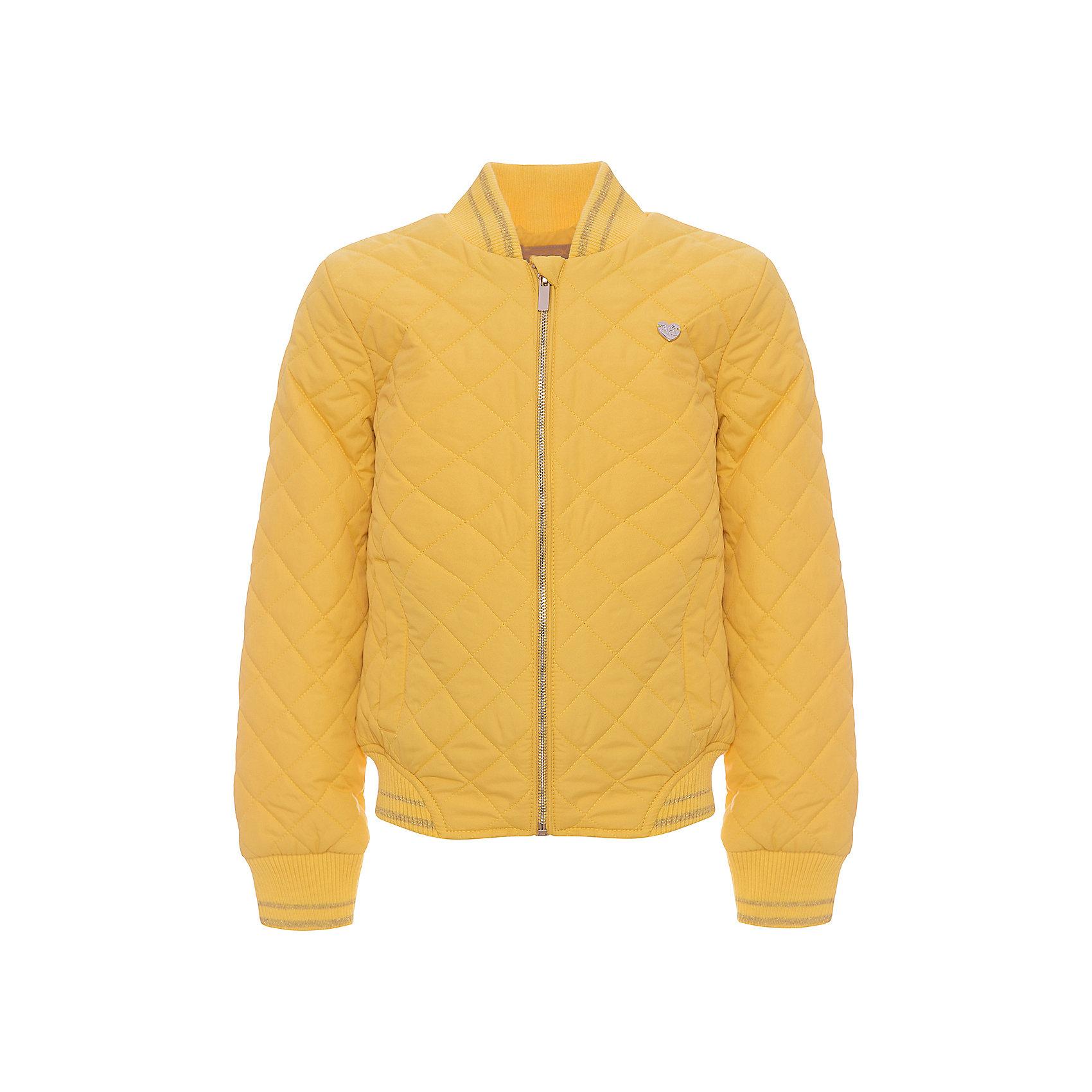 Куртка для девочки ScoolСицилия<br>Куртка для девочки Scool<br>Практичная стильная стеганая куртка со специальной водоотталкивающей пропиткой  - прекрасное решение для прохладной погоды. Мягкие трикотажные резинки на рукавах защитят Вашего ребенка - ветер не сможет проникнуть под куртку. Специальный карман для фиксации застежки-молнии не позволит застежке травмировать нежную кожу ребенка.Преимущества: Водоооталкивающая пропиткаСветооражатель<br>Состав:<br>Верх: 100% полиэстер, подкладка: 60% полиэстер, 40% хлопок, наполнитель: 100% полиэстер, 80 г/м2<br><br>Ширина мм: 356<br>Глубина мм: 10<br>Высота мм: 245<br>Вес г: 519<br>Цвет: желтый<br>Возраст от месяцев: 156<br>Возраст до месяцев: 168<br>Пол: Женский<br>Возраст: Детский<br>Размер: 164,134,140,146,152,158<br>SKU: 5406862
