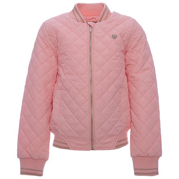 Куртка для девочки ScoolВерхняя одежда<br>Характеристики товара:<br><br>• цвет: светло-розовый<br>• состав: 100% полиэстер<br>• подкладка: 60% полиэстер, 40% хлопок<br>• утеплитель: 100% полиэстер, 80 г/м2<br>• температурный режим: от +5°С до +15°С<br>• стеганая<br>• водоотталкивающая пропитка<br>• удобные карманы<br>• застёжка: молния с защитой подбородка<br>• мягкие трикотажные резинки на рукавах<br>• светоотражающие элементы<br>• страна бренда: Германия<br>• страна производства: Китай<br><br>Утепленная куртка для девочки Scool. Практичная стильная стеганая куртка без капюшона, со специальной водоотталкивающей пропиткой  - прекрасное решение для прохладной погоды. Мягкие трикотажные резинки на рукавах защитят ребенка - ветер не сможет проникнуть под куртку. Специальный карман для фиксации застежки-молнии не позволит застежке травмировать нежную кожу ребенка.<br><br>Куртку для девочки от известного бренда Scool можно купить в нашем интернет-магазине.<br>Ширина мм: 356; Глубина мм: 10; Высота мм: 245; Вес г: 519; Цвет: светло-розовый; Возраст от месяцев: 96; Возраст до месяцев: 108; Пол: Женский; Возраст: Детский; Размер: 134,164,158,152,146,140; SKU: 5406994;