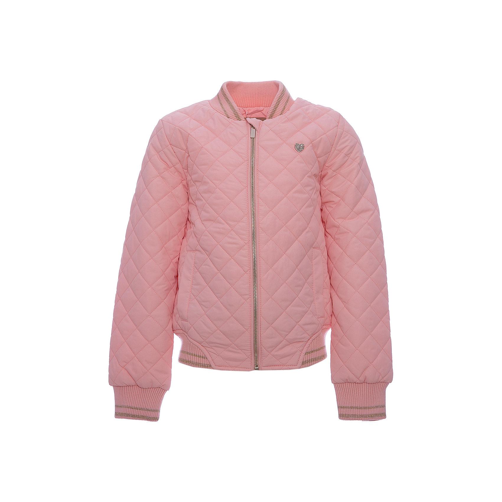 Куртка для девочки ScoolВерхняя одежда<br>Куртка для девочки Scool<br>Практичная стильная стеганая куртка со специальной водоотталкивающей пропиткой  - прекрасное решение для прохладной погоды. Мягкие трикотажные резинки на рукавах защитят Вашего ребенка - ветер не сможет проникнуть под куртку. Специальный карман для фиксации застежки-молнии не позволит застежке травмировать нежную кожу ребенка.Преимущества: Водоооталкивающая пропиткаСветооражатель<br>Состав:<br>Верх: 100% полиэстер, подкладка: 60% полиэстер, 40% хлопок, наполнитель: 100% полиэстер, 80 г/м2<br><br>Ширина мм: 356<br>Глубина мм: 10<br>Высота мм: 245<br>Вес г: 519<br>Цвет: светло-розовый<br>Возраст от месяцев: 156<br>Возраст до месяцев: 168<br>Пол: Женский<br>Возраст: Детский<br>Размер: 164,134,140,146,152,158<br>SKU: 5406994