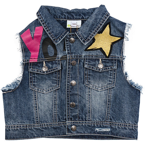 Жилет джинсовый для девочки S'cool