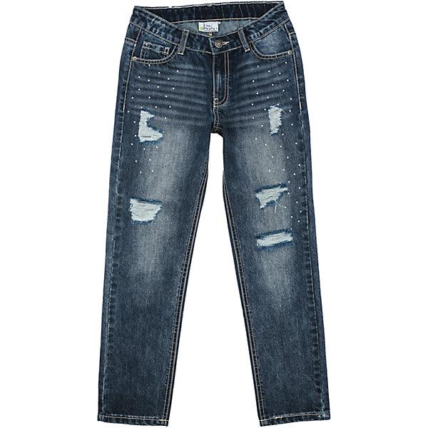 Джинсы для девочки ScoolДжинсовая одежда<br>Характеристики товара:<br><br>• цвет: синий<br>• состав: 100% хлопок<br>• сезон: демисезон<br>• декорированы стразами<br>• эффект потертостей<br>• карманы <br>• джинсы со шлевками<br>• страна бренда: Германия<br>• страна производства: Китай<br><br>Джинсы для девочки Scool. Джинсы с потертостями прекрасно подойдут ребенку для отдыха и прогулок. Модель со шлевками, при необходимости может быть дополнена ремнем. Модель декорирована яркими стразами. Джинсы могут быть хорошей базовой вещью в детском гардеробе.<br><br>Джинсы для девочки от известного бренда Scool можно купить в нашем интернет-магазине.<br>Ширина мм: 215; Глубина мм: 88; Высота мм: 191; Вес г: 336; Цвет: синий; Возраст от месяцев: 96; Возраст до месяцев: 108; Пол: Женский; Возраст: Детский; Размер: 134,164,158,152,146,140; SKU: 5407015;