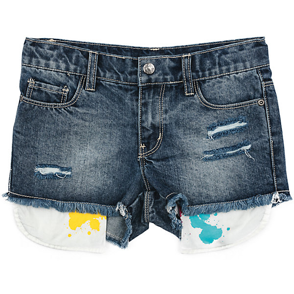 Шорты джинсовые для девочки ScoolШорты, бриджи, капри<br>Характеристики товара:<br><br>• цвет: синий<br>• состав: 100% хлопок<br>• сезон: лето<br>• карманы декорированы эффектом разбрызганных красок<br>• эффект потертостей<br>• карманы <br>• шорты со шлёвками<br>• страна бренда: Германия<br>• страна производства: Китай<br><br>Джинсовые шорты для девочки Scool. Шорты с потертостями, прорезями и выступающими изнутри карманами подойдут для отдыха и прогулок. Свободный крой не сковывает движений ребенка. Натуральный материал приятен к телу и не вызывает раздражений. Модель со шлевками. Карманы декорированы эффектом разбрызганных красок<br><br>Шорты для девочки от известного бренда Scool можно купить в нашем интернет-магазине.<br>Ширина мм: 191; Глубина мм: 10; Высота мм: 175; Вес г: 273; Цвет: синий; Возраст от месяцев: 96; Возраст до месяцев: 108; Пол: Женский; Возраст: Детский; Размер: 134,140,146,164,158,152; SKU: 5407022;