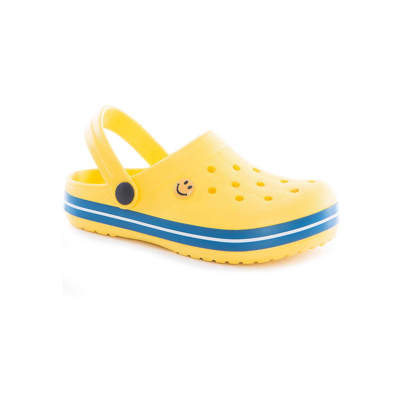 Сабо для девочки ScoolПляжная обувь<br>Пантолеты для девочки Scool<br>Удобные пантолеты (кроксы) прекрасно подойдут и для поездки на пляж, и для дачи. Модель с подвижным запяточным ремнем, который можно откинуть , что позволяет легко снимать и одевать обувь. Изготовлены из легкого материала. Перфорация в верхней части обеспечивает вентиляцию ноги<br>Состав:<br>100% этилвинилацетат<br><br>Ширина мм: 225<br>Глубина мм: 139<br>Высота мм: 112<br>Вес г: 290<br>Цвет: разноцветный<br>Возраст от месяцев: 72<br>Возраст до месяцев: 84<br>Пол: Женский<br>Возраст: Детский<br>Размер: 30,35,31,32,33,34<br>SKU: 5407114