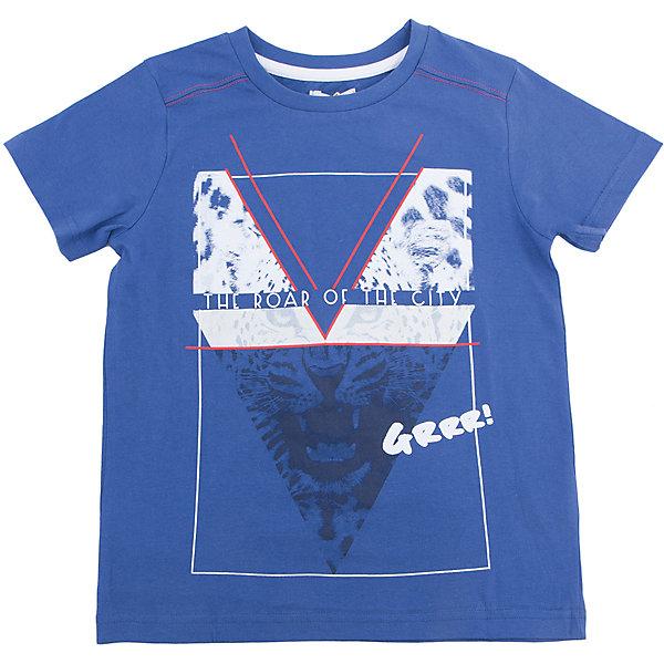 Футболка для мальчика ScoolФутболки, поло и топы<br>Характеристики товара:<br><br>• цвет: синий<br>• состав: 100% хлопок<br>• сезон: лето<br>• воротник на резинке<br>• страна бренда: Германия<br>• страна производства: Китай<br><br>Футболка с рисунком для мальчика Scool. Яркая хлопковая футболка с короткими рукавами. Воротник на трикотажной резинке. Украшена стильным водным принтом.<br><br>Футболку для мальчика от известного бренда Scool можно купить в нашем интернет-магазине.<br><br>Ширина мм: 199<br>Глубина мм: 10<br>Высота мм: 161<br>Вес г: 151<br>Цвет: синий<br>Возраст от месяцев: 96<br>Возраст до месяцев: 108<br>Пол: Мужской<br>Возраст: Детский<br>Размер: 134,164,158,152,146,140<br>SKU: 5407176