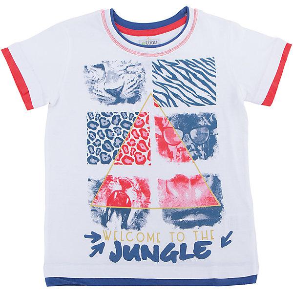 Футболка для мальчика ScoolФутболки, поло и топы<br>Характеристики товара:<br><br>• цвет: белый<br>• состав: 100% хлопок<br>• сезон: лето<br>• воротник на мягкой резинке<br>• страна бренда: Германия<br>• страна производства: Китай<br><br>Футболка с рисунком для мальчика Scool. Стильная хлопковая футболка с короткими рукавами. Украшена крупным ярким принтом с животными. Контрастная обработка низа, рукавов и воротника создает эффект двух изделий в одном. На воротнике мягкая резинка.<br><br>Футболку для мальчика от известного бренда Scool можно купить в нашем интернет-магазине.<br><br>Ширина мм: 199<br>Глубина мм: 10<br>Высота мм: 161<br>Вес г: 151<br>Цвет: белый<br>Возраст от месяцев: 144<br>Возраст до месяцев: 156<br>Пол: Мужской<br>Возраст: Детский<br>Размер: 158,164,134,140,146,152<br>SKU: 5407190