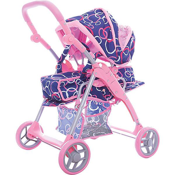 Коляска-трансформер для кукол, MeloboТранспорт и коляски для кукол<br>Характеристики:<br><br>• Тип игрушки: аксессуары для кукол и пупсов<br>• Предназначение: для сюжетно-ролевых игр<br>• Тематика рисунка: цветочный принт<br>• Материал: пластик, металл, текстиль<br>• Регулируемая ручка по высоте<br>• Люлька трансформируется в прогулочный блок<br>• Спинка и подножка регулируются по высоте<br>• Наличие сумки-багажника<br>• Вес: 2 кг 850 г<br>• Размеры (Д*В*Ш): 56*15*36 см<br>• Упаковка: полиэтилен<br>• Особенности ухода: сухая и влажная чистка<br><br>Коляска-трансформер для кукол, Melobo от знаменитого торгового бренда Melobo, чьи кукольные коляски отличаются качеством и функциональностью. Каркас коляски выполнен из прочного, но при этом легкого сплава, колеса – из пластика, а люлька из гипоаллергенного материала. Использованный текстиль отличается прочностью, не выцветает на солнце и устойчив к появлению пятен. <br><br>Игрушка имеет ряд механизмов, которые позволяют отрегулировать ее высоту под рост девочки. Игрушка трансформируется из коляски люльки в прогулочную коляску. Выполнена в ярком цвете. Такая коляска доставит радость любой девочке и прослужит длительное время! <br><br>Коляску-трансформер для кукол, Melobo можно купить в нашем интернет-магазине.<br><br>Ширина мм: 560<br>Глубина мм: 360<br>Высота мм: 150<br>Вес г: 2850<br>Возраст от месяцев: 24<br>Возраст до месяцев: 60<br>Пол: Женский<br>Возраст: Детский<br>SKU: 5407279