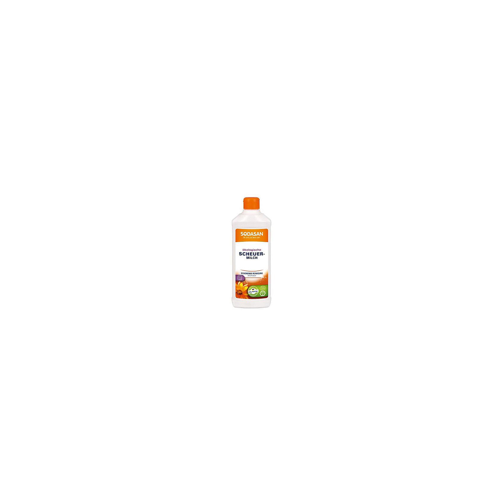 Крем очищающий для стеклокерамики и других деликатных поверхностей 500мл, SodasanБытовая химия<br>Бережная очистка без царапин<br>Преимущества:<br><br>эффективная, тщательная очистка<br>без красителей или консервантов<br>естественный аромат чистых эфирных масел<br>Использование:<br>Для эффективного и продуктивного удаления загрязнений на твердых поверхностях, таких как керамическая и индукционная конфорка, эмаль, керамика, нержавеющая сталь или сантехническое оборудование.<br><br>Экологические преимущества:<br>Мраморный порошок - широко используемое минеральное вещество, которое не разлагается в сточных водах.<br>Продукт является CO2-нейтральным. Мы используем только электроэнергию Greenpeace energy, следовательно, на 100% обходимся без ядерной энергии.<br><br>Ширина мм: 250<br>Глубина мм: 100<br>Высота мм: 250<br>Вес г: 500<br>Возраст от месяцев: 216<br>Возраст до месяцев: 1188<br>Пол: Унисекс<br>Возраст: Детский<br>SKU: 5407606