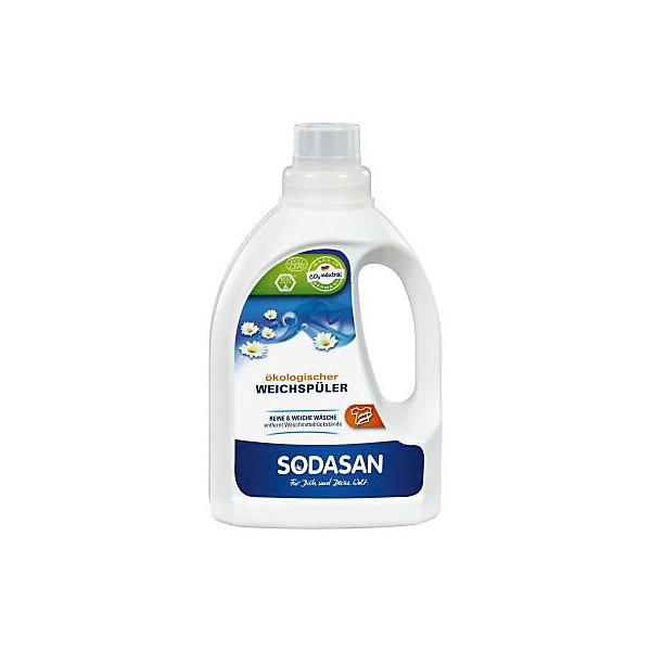 Смягчитель тканей (для быстрой глажки) 750мл, SodasanДетская бытовая химия<br>Удобная, чистая и мягкая стирка<br>Преимущества:<br><br>удаляет ненужный остаток после стирки<br>подходит для людей с чувствительной кожей<br>без красителей или консервантов<br>приятный естественный запах<br> <br><br>Использование:<br>Чистая и мягкая стирка посредством эффективного удаления остатков моющего средства из ткани.  Смягчает ткань и придаёт ей тонкий фруктовый аромат.<br><br>Экологические преимущества:<br>Основным ингредиентом смягчителя ткани SODASAN является лимонная кислота. Лимонная кислота подвержена быстрому и полному разложению.<br>Продукт является CO2-нейтральным. Мы используем только электроэнергию Greenpeace energy, следовательно, на 100% обходимся без ядерной энергии.<br><br>Ширина мм: 250<br>Глубина мм: 100<br>Высота мм: 250<br>Вес г: 750<br>Возраст от месяцев: 216<br>Возраст до месяцев: 1188<br>Пол: Унисекс<br>Возраст: Детский<br>SKU: 5407615