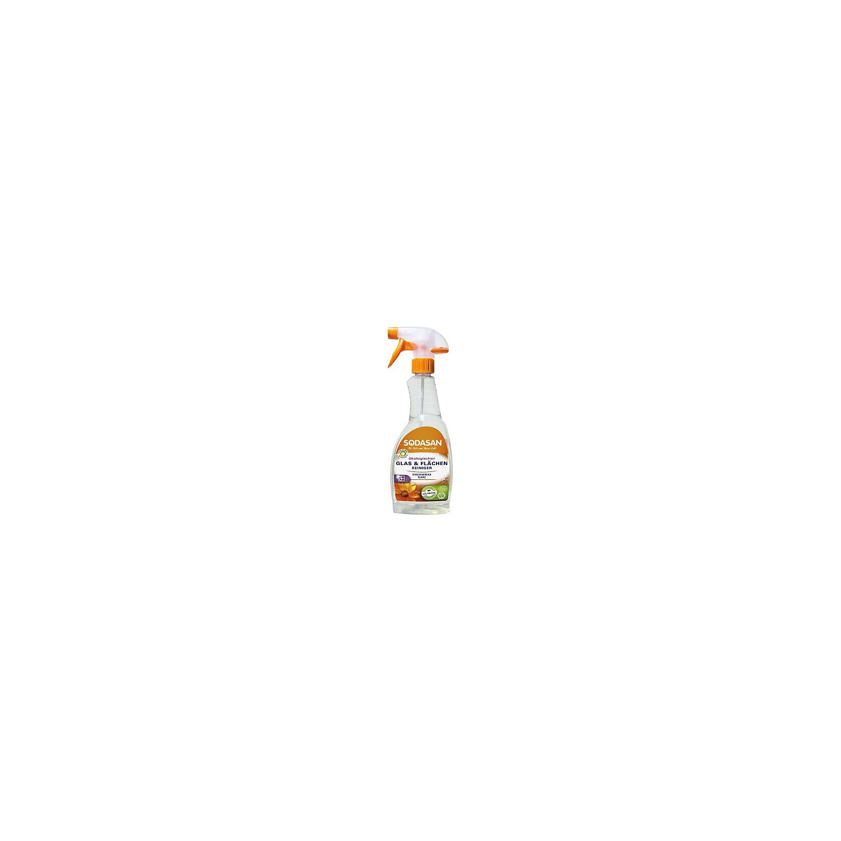Средство моющее для стекла 500мл, SodasanБытовая химия<br>Блеск без разводов<br>Преимущества:<br><br>содержит чистый спирт<br>без консервантов<br>изготовлено из специально обработанной воды<br>подходит для окон, зеркал и настенной и напольной плитки<br>Использование:<br>Универсальный спрей для чистки разводов на гладких поверхностях. Подходит для микроволоконных тканей.<br><br>Экологические преимущества:<br>Продукт не содержит детергентов или ферментов. Мы используем только электроэнергию Greenpeace energy, следовательно, на 100% обходимся без ядерной энергии.<br><br>Добавить комментарий<br><br>Ширина мм: 250<br>Глубина мм: 100<br>Высота мм: 250<br>Вес г: 500<br>Возраст от месяцев: 216<br>Возраст до месяцев: 1188<br>Пол: Унисекс<br>Возраст: Детский<br>SKU: 5407626