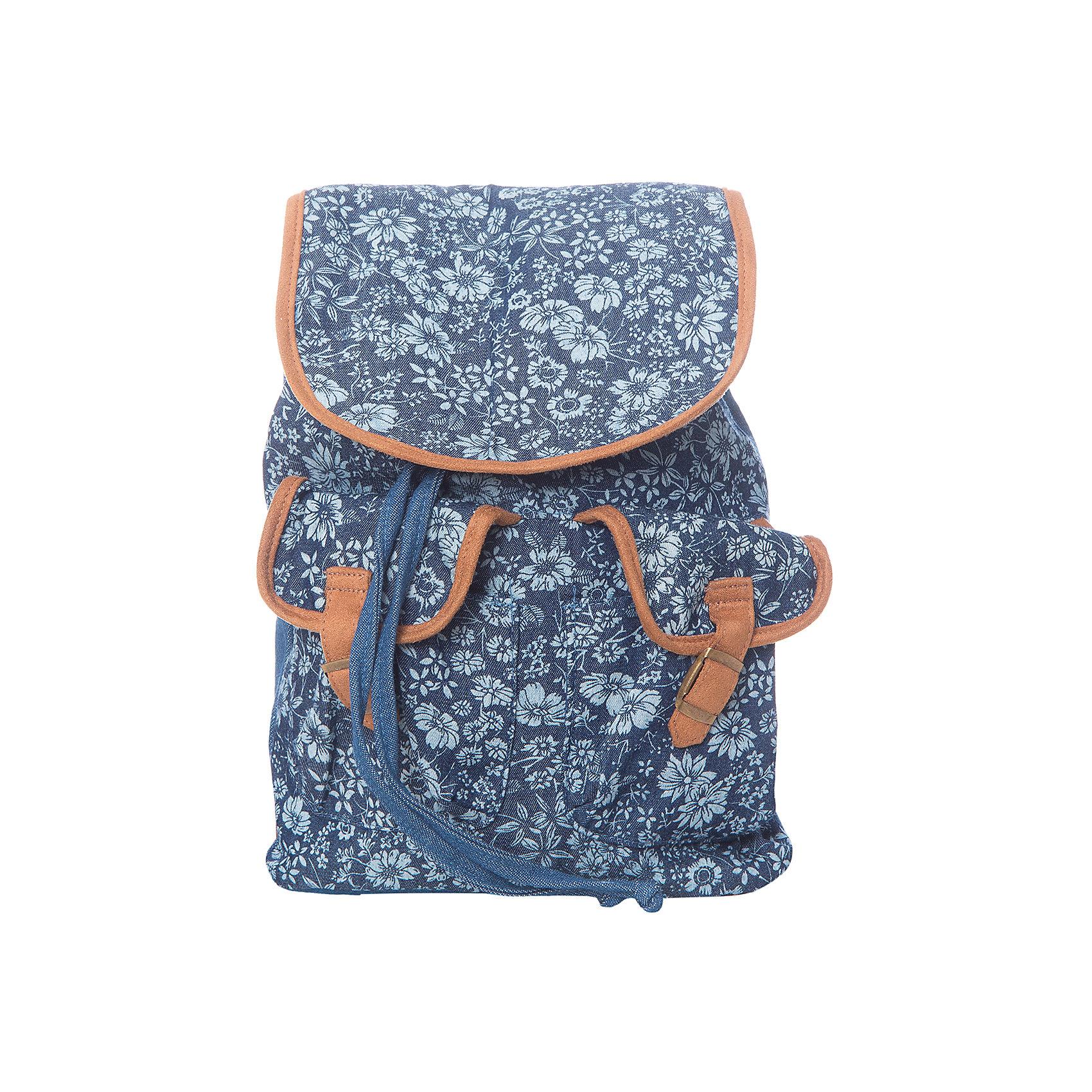 Рюкзак  PlayToday для девочкиСумки и рюкзаки<br>Характеристики товара:<br><br>• цвет: синий<br>• состав: 100% хлопок<br>• застёжка: шнурок-утяжка<br>• количество отделений: 1<br>• наружные карманы<br>• регулируемые лямки<br>• ширина: 20 см<br>• глубина: 8 см<br>• высота: 30 см<br>• страна бренда: Германия<br>• страна производства: Китай<br><br>Городской рюкзак для девочки PlayToday (Плей Тудей). Этот эффектный рюкзак с цветочным рисунком понравится ребенку. В нем поместятся все необходимые принадлежности. Выполнен из натуральной хлопковой ткани. Модель с регулируемыми анатомическими лямками.<br><br>Рюкзак для девочки от известного бренда PlayToday можно купить в нашем интернет-магазине.<br><br>Ширина мм: 227<br>Глубина мм: 11<br>Высота мм: 226<br>Вес г: 350<br>Цвет: белый<br>Возраст от месяцев: 6<br>Возраст до месяцев: 9<br>Пол: Женский<br>Возраст: Детский<br>Размер: one size<br>SKU: 5407683