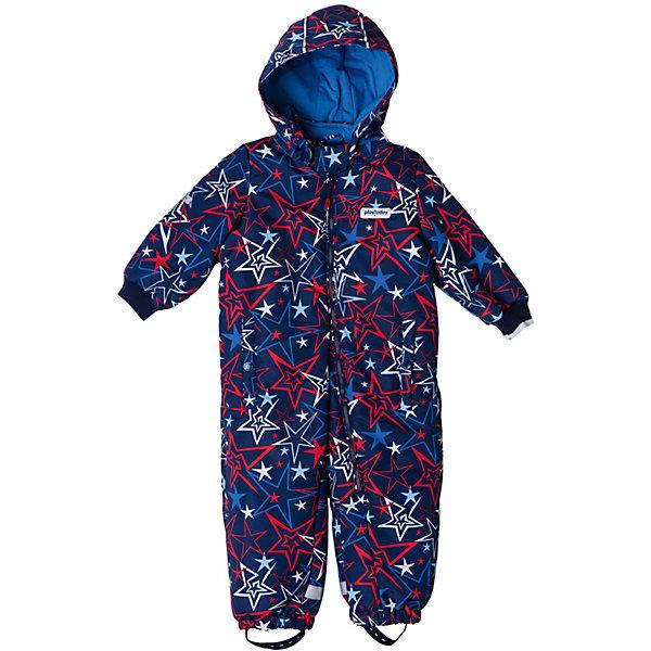 Комбинезон PlayToday для мальчикаВерхняя одежда<br>Характеристики товара:<br><br>• цвет: синий<br>• состав: 100% полиэстер<br>• подкладка: 80% хлопок, 20% полиэстер<br>• утеплитель: 100% полиэстер, 150 г/м2<br>• температурный режим: от +0°С до +15°С<br>• сезон: демисезон<br>• с текстильными штрипкками для фиксации обуви<br>• защита подбородка от молнии<br>• ассиметричная молний<br>• эластичные манжеты<br>• светоотражающие элементы<br>• капюшон<br>• страна бренда: Германия<br>• страна производства: Китай<br><br>Утепленный комбинезон прекрасно подойдет для холодной ветреной погоды. Ассиметричное расположение застежки - молнии позволит легко снимать и одевать данное изделие. Натуральный материал подкладки приятен к телу. Специальный карман для застежки молнии не позволит застежке травмировать нежную кожу ребенка. <br><br>Низ брючин и манжеты на мягких резинках для дополнительного сохранения тепла. Модель со специальными резинками для фиксации обуви. Комбинезон со специальными светоотражающими элементами. Ваш ребенок будет виден в темное время суток.<br><br>Комбинезон для мальчика от известного бренда PlayToday можно купить в нашем интернет-магазине.<br><br>Ширина мм: 157<br>Глубина мм: 13<br>Высота мм: 119<br>Вес г: 200<br>Цвет: белый<br>Возраст от месяцев: 12<br>Возраст до месяцев: 18<br>Пол: Мужской<br>Возраст: Детский<br>Размер: 74,92,80,86<br>SKU: 5407685