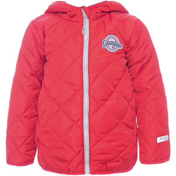 Куртка для мальчика PlayTodayВерхняя одежда<br>Характеристики товара:<br><br>• цвет: красный<br>• состав: 100% полиэстер<br>• подкладка: 80% хлопок, 20% полиэстер<br>• утеплитель: 100% полиэстер, 150 г/м2<br>• температурный режим: от +0°С до +15°С<br>• сезон: демисезон<br>• стеганая<br>• водоотталкивающая пропитка<br>• два кармана по бокам<br>• молния с защитой подбородка<br>• эластичные манжеты<br>• капюшон на отстегивается<br>• светоотражающие элементы на рукавах и по низу изделия<br>• страна бренда: Германия<br>• страна производства: Китай<br><br>Стеганая куртка с капюшоном для мальчика PlayToday. Утепленная куртка - прекрасное решение для прохладной погоды. Мягкие трикотажные резинки на рукавах защитят ребенка - ветер не сможет проникнуть под куртку.  Специальный карман для фиксации застежки-молнии не позволит застежке травмировать нежную детскую кожу. <br><br>Мягкая резинка на капюшоне не позволит ему упасть с головы вашего ребенка даже во время активных игр. Модель снабжена светоотражателями на рукаве и по низу изделия - ребенок будет виден даже в темное время суток.<br><br>Куртку для мальчика от известного бренда PlayToday можно купить в нашем интернет-магазине.<br><br>Ширина мм: 356<br>Глубина мм: 10<br>Высота мм: 245<br>Вес г: 519<br>Цвет: красный<br>Возраст от месяцев: 6<br>Возраст до месяцев: 9<br>Пол: Мужской<br>Возраст: Детский<br>Размер: 74,92,86,80<br>SKU: 5407695
