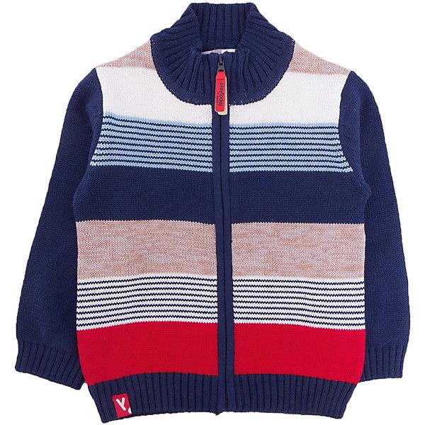 Кардиган для мальчика PlayTodayТолстовки, свитера, кардиганы<br>Характеристики товара:<br><br>• цвет: синий<br>• состав: 60% хлопок, 40% акрил<br>• изготовлен методом yarn dyed, долго выглядит как новый<br>• молния<br>• эластичные манжеты<br>• резинка по низу<br>• страна бренда: Германия<br>• страна производства: Китай<br><br>Кардиган для мальчика PlayToday. Материал изделия изготовлен методом yarn dyed - в процессе производства в полотне используются разного цвета нити. Тем самым изделие, при рекомендуемом уходе, не линяет и надолго остается в прежнем виде, это определенный знак качества. Кофта на молнии. Мягкие резинки на манжетах и по низу изделия позволяют ему держать форму.<br><br>Кардиган для мальчика от известного бренда PlayToday можно купить в нашем интернет-магазине.<br>Ширина мм: 190; Глубина мм: 74; Высота мм: 229; Вес г: 236; Цвет: белый; Возраст от месяцев: 12; Возраст до месяцев: 15; Пол: Мужской; Возраст: Детский; Размер: 80,74,92,86; SKU: 5407705;
