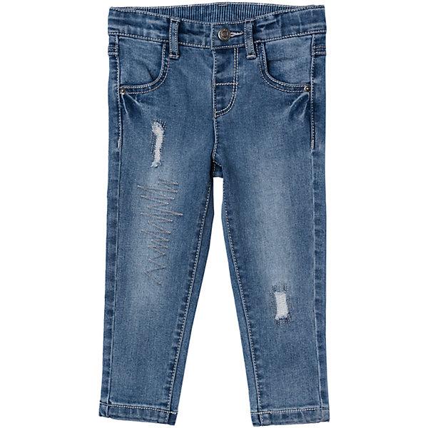 Джинсы для мальчика PlayTodayДжинсовая одежда<br>Характеристики товара:<br><br>• цвет: синий<br>• состав: 72% хлопок, 23% полиэстер, 3% вискоза, 2% эластан<br>• с резинкой внутри пояса<br>• наличие шлевок для ремня<br>• эффект потертостей<br>• карманы <br>• страна бренда: Германия<br>• страна производства: Китай<br><br>Джинсы для мальчика PlayToday. Джинсы с эффектом потертости и прорезями прекрасно подойдут ребенку для отдыха и прогулок. Модель снабжена шлевками для ремня и резинкой внутри пояса. Мягкая ткань не сковывает движений ребенка.<br><br>Джинсы для мальчика от известного бренда Scool можно купить в нашем интернет-магазине.<br>Ширина мм: 157; Глубина мм: 13; Высота мм: 119; Вес г: 200; Цвет: синий; Возраст от месяцев: 6; Возраст до месяцев: 9; Пол: Мужской; Возраст: Детский; Размер: 74,92,86,80; SKU: 5407720;