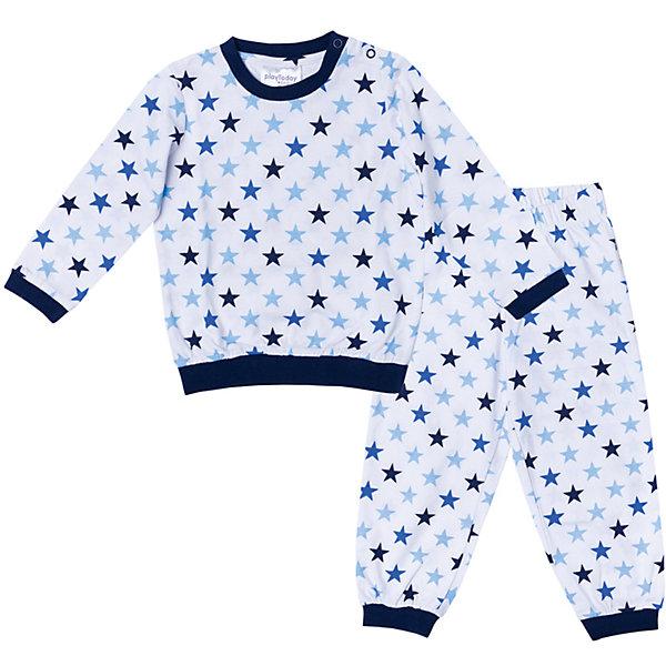 Пижама для мальчика PlayTodayПижамы и сорочки<br>Характеристики товара:<br><br>• цвет: синий, белый<br>• состав: 100% хлопок <br>• кнопки на плече<br>• манжеты на мягких резинках<br>• длинные рукава<br>• страна бренда: Германия<br>• страна производства: Китай<br><br>Пижама с рисунком для мальчика PlayToday. Мягкий, приятный к телу материал не сковывает движений. Брюки на мягкой удобной резинке. Низ брючин отделан мягкими резинками. Для удобства снимания и одевания на горловине расположены две застежки - кнопки.<br><br>Пижама для мальчика от известного бренда Scool можно купить в нашем интернет-магазине.<br><br>Ширина мм: 281<br>Глубина мм: 70<br>Высота мм: 188<br>Вес г: 295<br>Цвет: белый<br>Возраст от месяцев: 6<br>Возраст до месяцев: 9<br>Пол: Мужской<br>Возраст: Детский<br>Размер: 74,92,86,80<br>SKU: 5407789