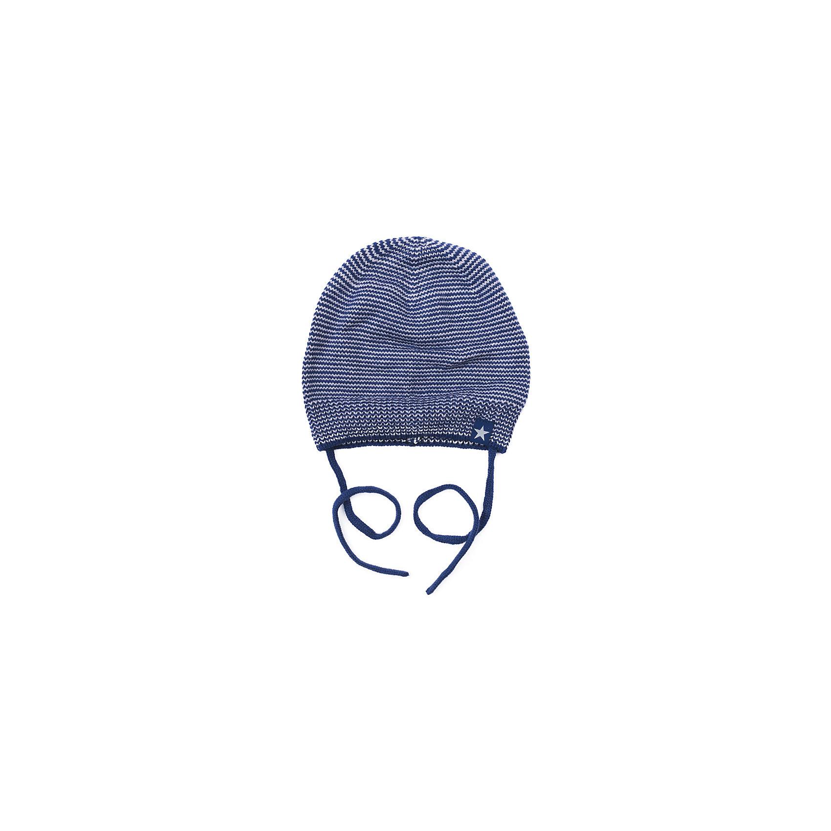Шапка для мальчика PlayTodayШапочки<br>Шапка для мальчика PlayToday<br>Шапка на завязках для мальчика из трикотажа подойдет Вашему ребенку для прогулок в прохладную погоду. Плотно прилегает к голове, комфортна при носке.Преимущества: Шапка на завязкахКомфортна при носке<br>Состав:<br>80% хлопок, 20% акрил<br><br>Ширина мм: 89<br>Глубина мм: 117<br>Высота мм: 44<br>Вес г: 155<br>Цвет: полуночно-синий<br>Возраст от месяцев: 12<br>Возраст до месяцев: 18<br>Пол: Мужской<br>Возраст: Детский<br>Размер: 48,46<br>SKU: 5407808