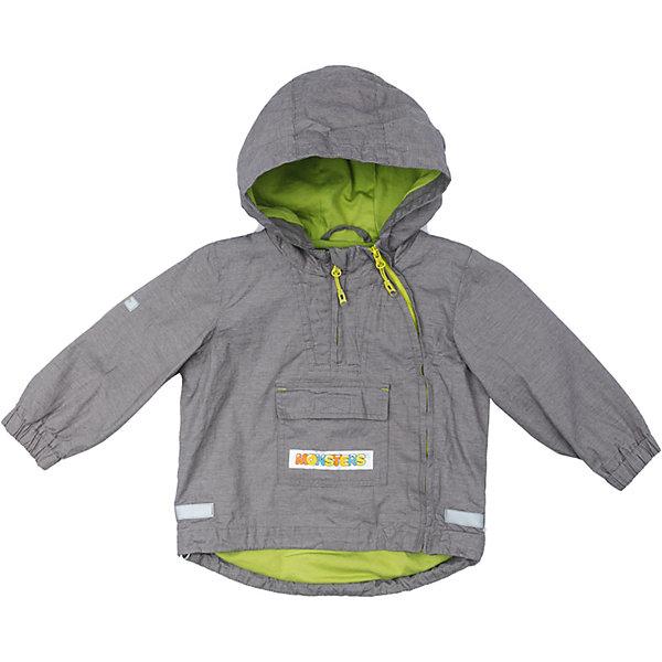 Куртка для мальчика PlayTodayВерхняя одежда<br>Характеристики товара:<br><br>• цвет: серый<br>• состав: 100% хлопок<br>• подкладка: 80% хлопок, 20% полиэстер<br>• без утеплителя<br>• температурный режим: от +10°С до +20°С<br>• сезон: демисезон<br>• молния с защитой подбородка<br>• эластичные манжеты<br>• капюшон не отстегивается<br>• светоотражатели на рукаве и по низу изделия<br>• страна бренда: Германия<br>• страна производства: Китай<br><br>Куртка с капюшоном для мальчика PlayToday. Куртка из натурального хлопка с заниженной спинкой на подкладке из натуральных материалов прекрасно подойдет для прогулок в прохладную погоду. Модель со светоотражателями - ребенок будет виден в темное время суток. <br><br>На куртке две застежки молнии. Одна расположена - на полочке, в районе груди. Ее можно расстегнуть, не боясь простудить ребенка. Вторая застежка - молния, с помощью которой изделие можно снимать и одевать, расположена ассиметрично. Специальный карман для застежек - молний не позволит застежкам травмировать нежную кожу ребенка. Модель декорирована большим удобным карманом.<br><br>Куртку для мальчика от известного бренда PlayToday можно купить в нашем интернет-магазине.<br><br>Ширина мм: 356<br>Глубина мм: 10<br>Высота мм: 245<br>Вес г: 519<br>Цвет: белый<br>Возраст от месяцев: 12<br>Возраст до месяцев: 15<br>Пол: Мужской<br>Возраст: Детский<br>Размер: 80,74,92,86<br>SKU: 5407825