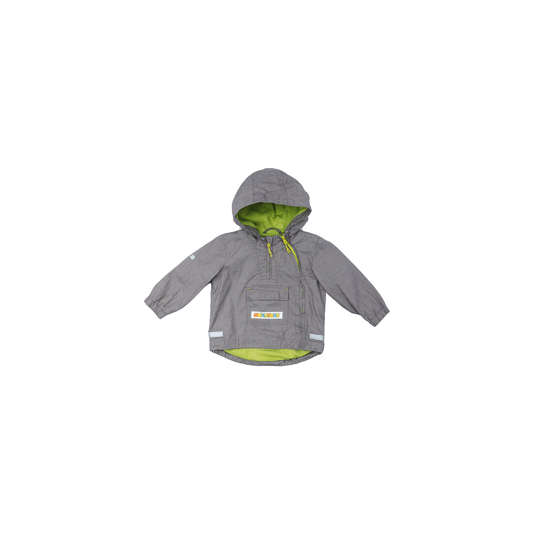 Куртка для мальчика PlayTodayВерхняя одежда<br>Характеристики товара:<br><br>• цвет: серый<br>• состав: 100% хлопок<br>• подкладка: 80% хлопок, 20% полиэстер<br>• без утеплителя<br>• температурный режим: от +10°С до +20°С<br>• сезон: демисезон<br>• молния с защитой подбородка<br>• эластичные манжеты<br>• капюшон не отстегивается<br>• светоотражатели на рукаве и по низу изделия<br>• страна бренда: Германия<br>• страна производства: Китай<br><br>Куртка с капюшоном для мальчика PlayToday. Куртка из натурального хлопка с заниженной спинкой на подкладке из натуральных материалов прекрасно подойдет для прогулок в прохладную погоду. Модель со светоотражателями - ребенок будет виден в темное время суток. <br><br>На куртке две застежки молнии. Одна расположена - на полочке, в районе груди. Ее можно расстегнуть, не боясь простудить ребенка. Вторая застежка - молния, с помощью которой изделие можно снимать и одевать, расположена ассиметрично. Специальный карман для застежек - молний не позволит застежкам травмировать нежную кожу ребенка. Модель декорирована большим удобным карманом.<br><br>Куртку для мальчика от известного бренда PlayToday можно купить в нашем интернет-магазине.<br><br>Ширина мм: 356<br>Глубина мм: 10<br>Высота мм: 245<br>Вес г: 519<br>Цвет: разноцветный<br>Возраст от месяцев: 12<br>Возраст до месяцев: 15<br>Пол: Мужской<br>Возраст: Детский<br>Размер: 80,92,74,86<br>SKU: 5407825