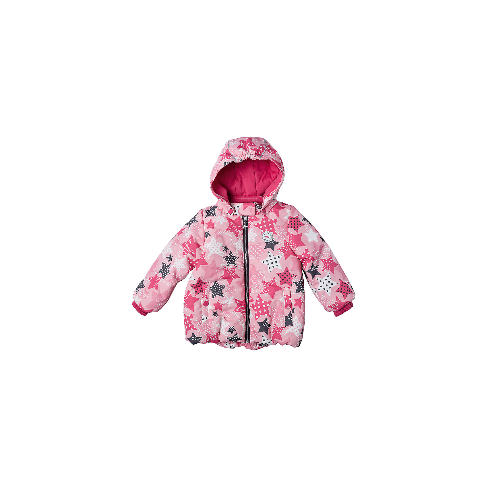 Куртка для девочки PlayTodayВерхняя одежда<br>Куртка для девочки PlayToday<br>Практичная утепленная куртка с капюшоном со специальной водоотталкивающей пропиткой защитит Вашего ребенка в любую погоду! Мягкие трикотажные резинки на рукавах защитят Вашего ребенка - ветер не сможет проникнуть под куртку.  Специальный карман для фиксации застежки-молнии не позволит застежке травмировать нежную детскую кожу. Мягкая резинка на капюшоне не позволит ему упасть с головы вашего ребенка даже во время активных игр.Преимущества: Защита подбородка. Специальный карман для фиксации застежки-молнии. Наличие данного кармана не позволит застежке -молнии травмировать нежную кожу ребенкаКапюшон на мягкой резинкеВодоооталкивающая пропитка<br>Состав:<br>Верх: 100% полиэстер, подкладка: 80% хлопок, 20% полиэстер, Утеплитель 100% полиэстер, 150 г/м2<br><br>Ширина мм: 356<br>Глубина мм: 10<br>Высота мм: 245<br>Вес г: 519<br>Цвет: разноцветный<br>Возраст от месяцев: 6<br>Возраст до месяцев: 9<br>Пол: Женский<br>Возраст: Детский<br>Размер: 74,92,80,86<br>SKU: 5408074