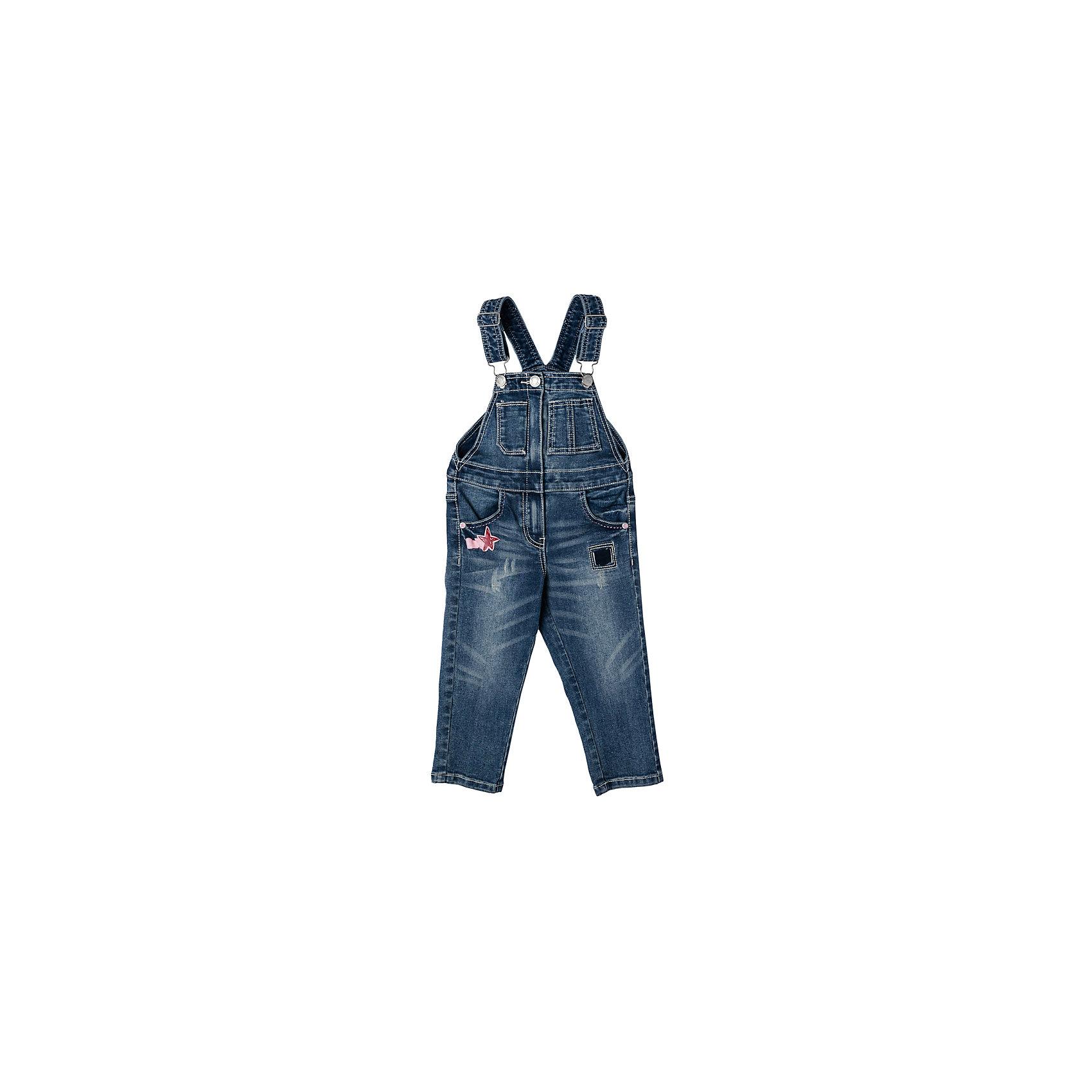 Комбинезон джинсовый для девочки PlayTodayДжинсовая одежда<br>Характеристики товара:<br><br>• цвет: голубой<br>• состав: 72% хлопок, 23% полиэстер, 3% вискоза, 2% эластан<br>• регулируемые лямки<br>• качественный материал<br>• карманы <br>• эффект потертостей<br>• комфортная посадка<br>• коллекция: весна-лето 2017<br>• страна бренда: Германия<br>• страна производства: Китай<br><br>Популярный бренд PlayToday выпустил новую коллекцию! Вещи из неё продолжают радовать покупателей удобством, стильным дизайном и продуманным кроем. Дети носят их с удовольствием. PlayToday - это линейка товаров, созданная специально для детей. Дизайнеры учитывают новые веяния моды и потребности детей. Порадуйте ребенка обновкой от проверенного производителя!<br>Эта модель обеспечит ребенку комфорт благодаря качественному материалу и удобному крою. С её помощью можно сделать интересный акцент в образе, дополнить наряд и одеться по погоде. Очень модная вещь! Выглядит стильно и аккуратно.<br><br>Полукомбинезон для девочки от известного бренда Scool можно купить в нашем интернет-магазине.<br><br>Ширина мм: 215<br>Глубина мм: 88<br>Высота мм: 191<br>Вес г: 336<br>Цвет: темно-синий<br>Возраст от месяцев: 18<br>Возраст до месяцев: 24<br>Пол: Женский<br>Возраст: Детский<br>Размер: 92,74,80,86<br>SKU: 5408099