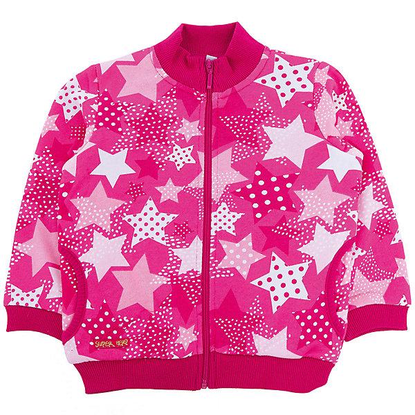 Толстовка для девочки PlayTodayТолстовки, свитера, кардиганы<br>Характеристики товара:<br><br>• цвет: розовый<br>• состав: 80% хлопок, 20% полиэстер<br>• воротник-стойка<br>• дышащий материал<br>• эластичные манжеты<br>• резинка по низу<br>• молния<br>• комфортная посадка<br>• коллекция: весна-лето 2017<br>• страна бренда: Германия<br>• страна производства: Китай<br><br>Популярный бренд PlayToday выпустил новую коллекцию! Вещи из неё продолжают радовать покупателей удобством, стильным дизайном и продуманным кроем. Дети носят их с удовольствием. PlayToday - это линейка товаров, созданная специально для детей. Дизайнеры учитывают новые веяния моды и потребности детей. Порадуйте ребенка обновкой от проверенного производителя!<br>Такая стильная модель обеспечит ребенку комфорт благодаря качественному материалу и продуманному крою. С помощью неё можно удобно одеться по погоде. Очень модная вещь! Отлично подходит для переменной погоды межсезонья.<br><br>Толстовку для девочки от известного бренда PlayToday можно купить в нашем интернет-магазине.<br>Ширина мм: 190; Глубина мм: 74; Высота мм: 229; Вес г: 236; Цвет: белый; Возраст от месяцев: 6; Возраст до месяцев: 9; Пол: Женский; Возраст: Детский; Размер: 74,92,80,86; SKU: 5408114;