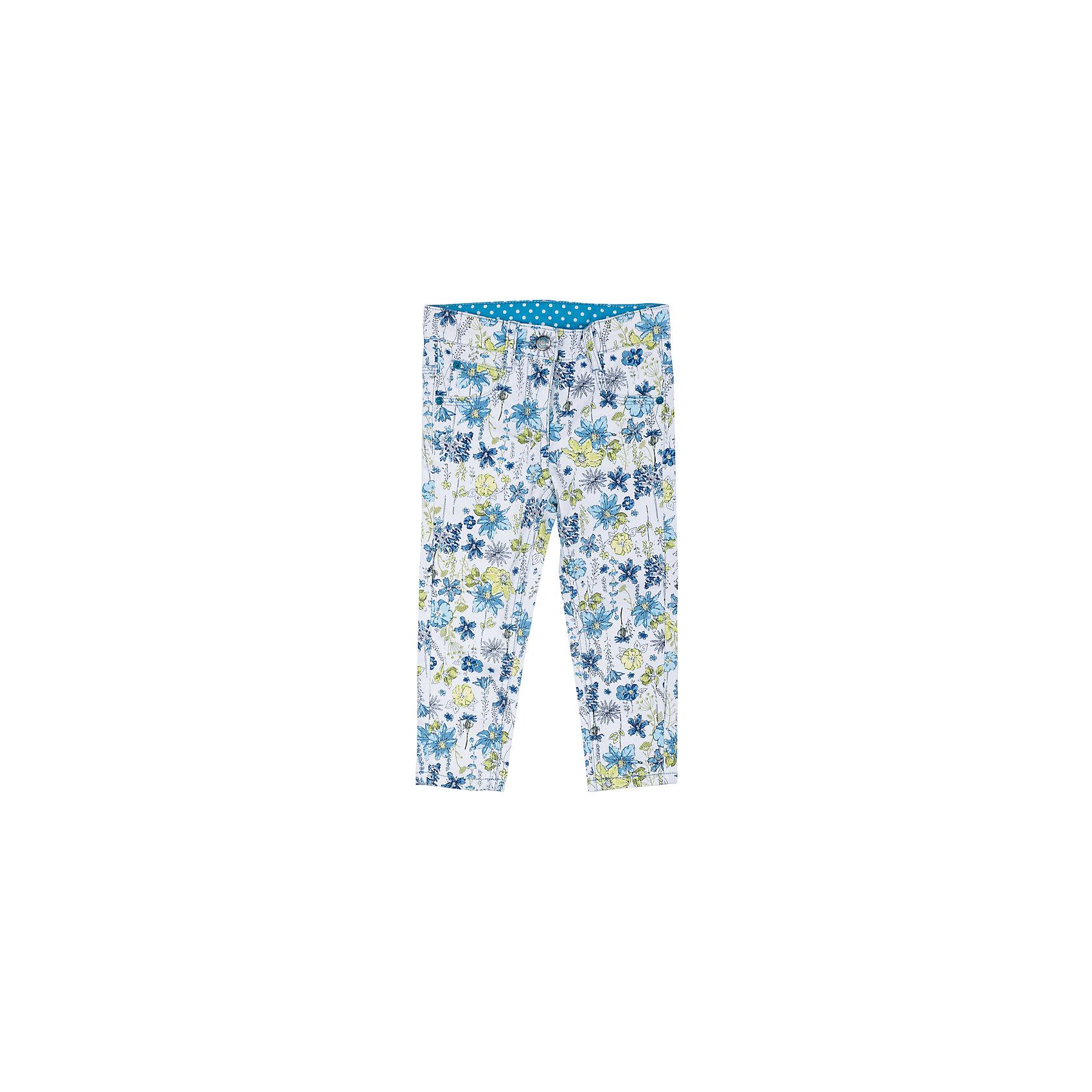 Брюки для девочки PlayTodayБрюки<br>Характеристики товара:<br><br>• цвет: синий<br>• состав: 65% хлопок, 32% полиэстер, 3% эластан<br>• принт<br>• качественный материал<br>• карманы <br>• шлевки<br>• комфортная посадка<br>• коллекция: весна-лето 2017<br>• страна бренда: Германия<br>• страна производства: Китай<br><br>Популярный бренд PlayToday выпустил новую коллекцию! Вещи из неё продолжают радовать покупателей удобством, стильным дизайном и продуманным кроем. Дети носят их с удовольствием. PlayToday - это линейка товаров, созданная специально для детей. Дизайнеры учитывают новые веяния моды и потребности детей. Порадуйте ребенка обновкой от проверенного производителя!<br>Эта модель обеспечит ребенку комфорт благодаря качественному материалу и удобному крою. С её помощью можно сделать интересный акцент в образе, дополнить наряд и одеться по погоде. Очень модная вещь! Выглядит стильно и аккуратно.<br><br>Брюки для девочки от известного бренда Scool можно купить в нашем интернет-магазине.<br><br>Ширина мм: 215<br>Глубина мм: 88<br>Высота мм: 191<br>Вес г: 336<br>Цвет: белый<br>Возраст от месяцев: 6<br>Возраст до месяцев: 9<br>Пол: Женский<br>Возраст: Детский<br>Размер: 92,86,80,74<br>SKU: 5408248