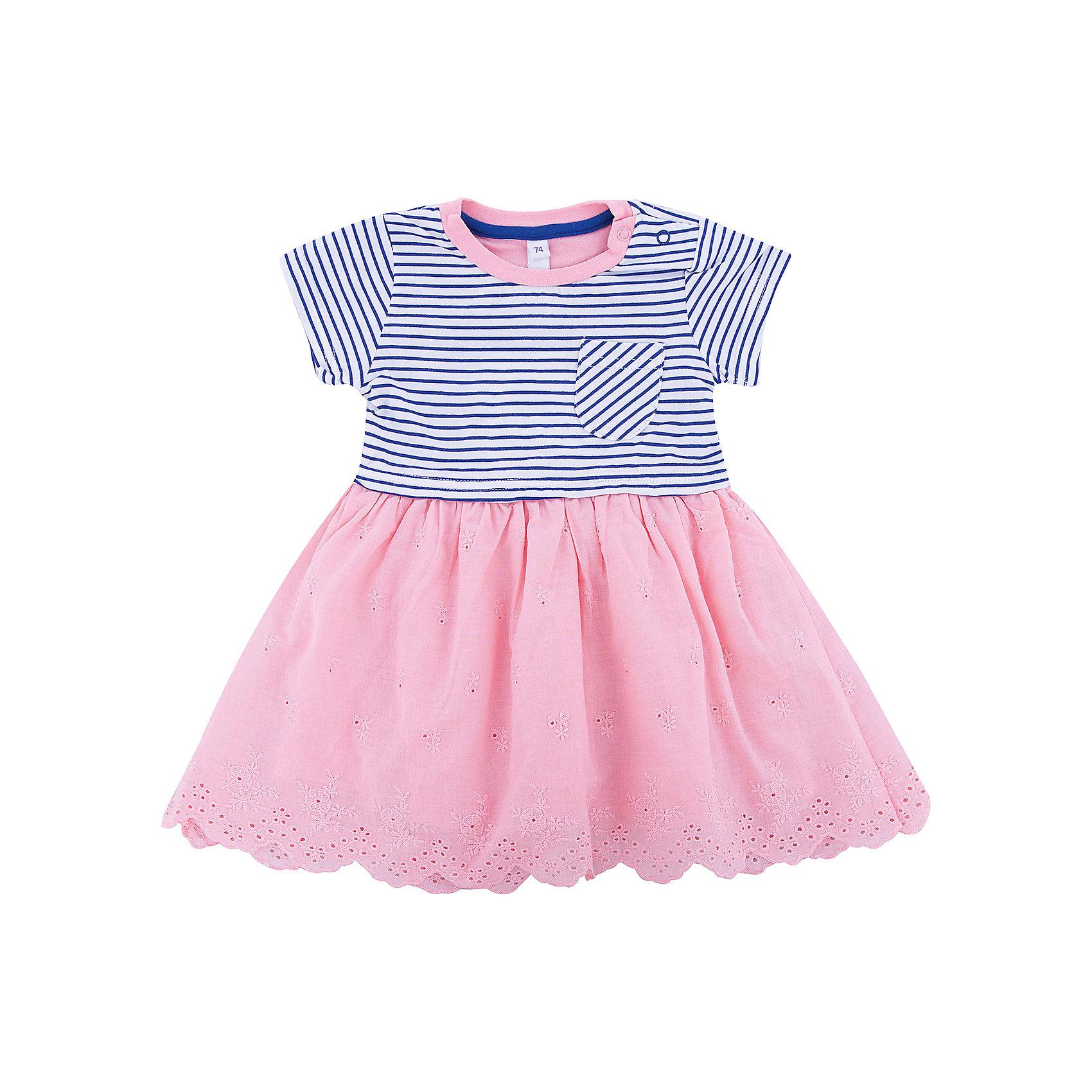 Платье для девочки PlayTodayПлатья<br>Характеристики товара:<br><br>• цвет: разноцветный<br>• состав: 95% хлопок, 5% эластан / 100% хлопок<br>• короткие рукава<br>• качественный материал<br>• ажурный подол<br>• комфортная посадка<br>• коллекция: весна-лето 2017<br>• страна бренда: Германия<br>• страна производства: Китай<br><br>Популярный бренд PlayToday выпустил новую коллекцию! Вещи из неё продолжают радовать покупателей удобством, стильным дизайном и продуманным кроем. Дети носят их с удовольствием. PlayToday - это линейка товаров, созданная специально для детей. Дизайнеры учитывают новые веяния моды и потребности детей. Порадуйте ребенка обновкой от проверенного производителя!<br>Эта модель обеспечит ребенку комфорт благодаря качественному материалу и удобному крою. С её помощью можно сделать интересный акцент в образе, дополнить наряд и одеться по погоде. Очень модная вещь! Выглядит стильно и аккуратно.<br><br>Платье для девочки от известного бренда Scool можно купить в нашем интернет-магазине.<br><br>Ширина мм: 236<br>Глубина мм: 16<br>Высота мм: 184<br>Вес г: 177<br>Цвет: белый<br>Возраст от месяцев: 12<br>Возраст до месяцев: 15<br>Пол: Женский<br>Возраст: Детский<br>Размер: 80,86,92,74<br>SKU: 5408273