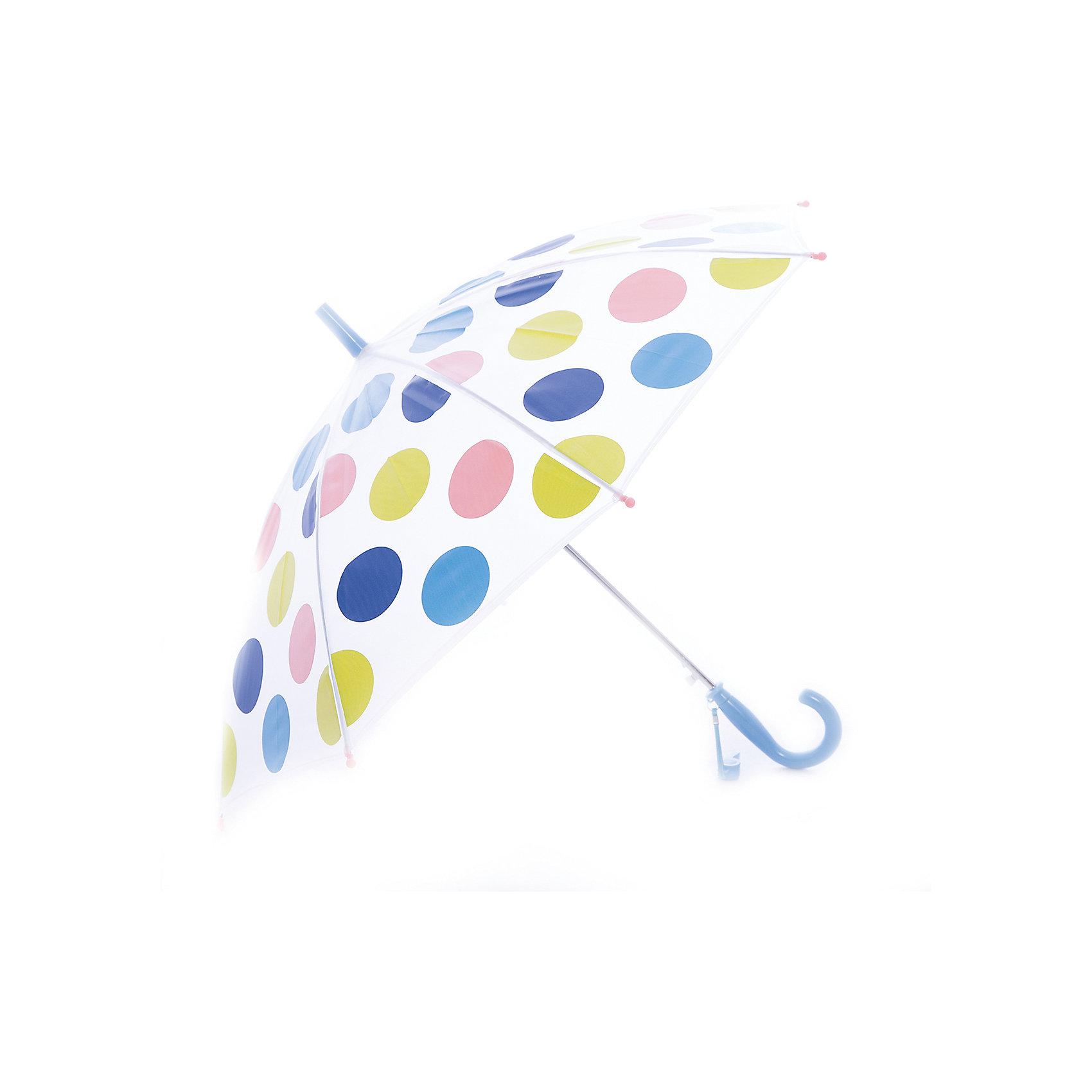 Зонт для девочки PlayTodayЗонт для девочки PlayToday<br>Этот зонтик обязательно понравится Вашему ребенку! Оснащен специальной безопасной системой открывания и закрывания. Материал каркаса ветроустойчивый. Концы спиц снабжены пластмассовыми наконечниками для защиты от травм. Такой зонт идеально подойдет для прогулок в дождливую погоду.Преимущества: Оснащен специальной безопасной системой открывания и закрыванияКонцы спиц снабжены пластмассовыми наконечниками для защиты от травм<br>Состав:<br>Каркас: 100:сталь; Купол: 100%полиэстер; Ручка:100% АБС пластик<br><br>Ширина мм: 170<br>Глубина мм: 157<br>Высота мм: 67<br>Вес г: 117<br>Цвет: разноцветный<br>Возраст от месяцев: 12<br>Возраст до месяцев: 24<br>Пол: Женский<br>Возраст: Детский<br>Размер: one size<br>SKU: 5408453