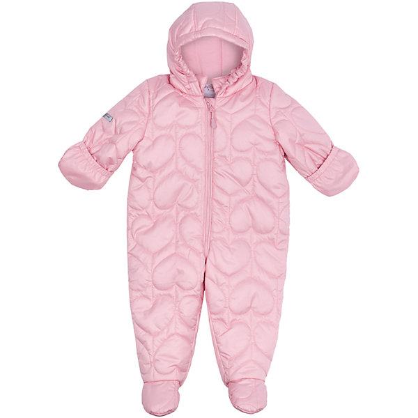Комбинезон для девочки PlayTodayВерхняя одежда<br>Характеристики товара:<br><br>• цвет: розовый<br>• состав: 100% полиэстер, подкладка: 100% полиэстер<br>• утеплитель: 100% полиэстер, 150 г/м2<br>• температурный режим: от +0°С до +15°С<br>• кисти рук закрываются теплыми защитными кармашками<br>• стеганый<br>• защита подбородка<br>• молния<br>• комфортная посадка<br>• светоотражающие элементы<br>• капюшон<br>• коллекция: весна-лето 2017<br>• страна бренда: Германия<br>• страна производства: Китай<br><br>Популярный бренд PlayToday выпустил новую коллекцию! Вещи из неё продолжают радовать покупателей удобством, стильным дизайном и продуманным кроем. Дети носят их с удовольствием. PlayToday - это линейка товаров, созданная специально для детей. Дизайнеры учитывают новые веяния моды и потребности детей. Порадуйте ребенка обновкой от проверенного производителя!<br>Такой демисезонный стильный комбинезон обеспечит ребенку комфорт благодаря качественному материалу и продуманному крою. С помощью этой модели можно удобно одеться по погоде. Очень модная модель! Отлично подходит для переменной погоды межсезонья.<br><br>Комбинезон для девочки от известного бренда PlayToday можно купить в нашем интернет-магазине.<br>Ширина мм: 157; Глубина мм: 13; Высота мм: 119; Вес г: 200; Цвет: розовый; Возраст от месяцев: 2; Возраст до месяцев: 5; Пол: Женский; Возраст: Детский; Размер: 62,74; SKU: 5408457;