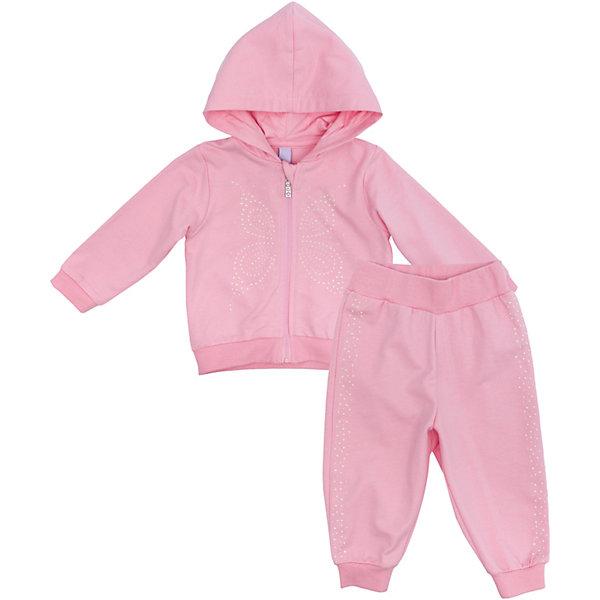Купить Комплект для девочки PlayToday, Китай, светло-розовый, 56, 74, 68, 62, Женский
