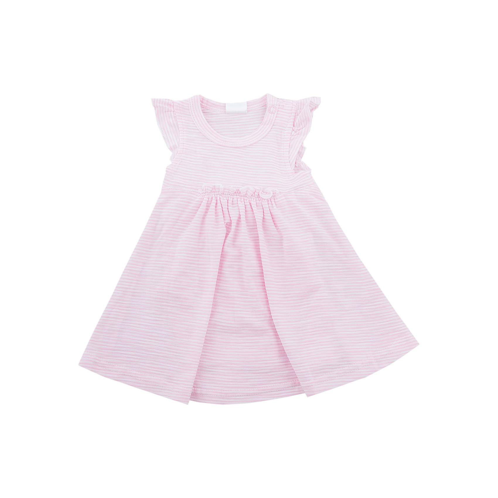 Платье для девочки PlayTodayПлатья<br>Платье для девочки PlayToday<br>Платье с завышенной талией, с округлым вырезом у горловины, понравится Вашей моднице.  Свободный крой не сковывает движений. Приятная на ощупь ткань не раздражает нежную кожу ребенка. Модель на рукавах декорирована небольшими оборками, что создает эффект крылышекПреимущества: Мягкая ткань не вызывает раздраженийСвободный крой не сковывает движений ребенка<br>Состав:<br>100% хлопок<br><br>Ширина мм: 236<br>Глубина мм: 16<br>Высота мм: 184<br>Вес г: 177<br>Цвет: разноцветный<br>Возраст от месяцев: 6<br>Возраст до месяцев: 9<br>Пол: Женский<br>Возраст: Детский<br>Размер: 74,56,62,68<br>SKU: 5408495