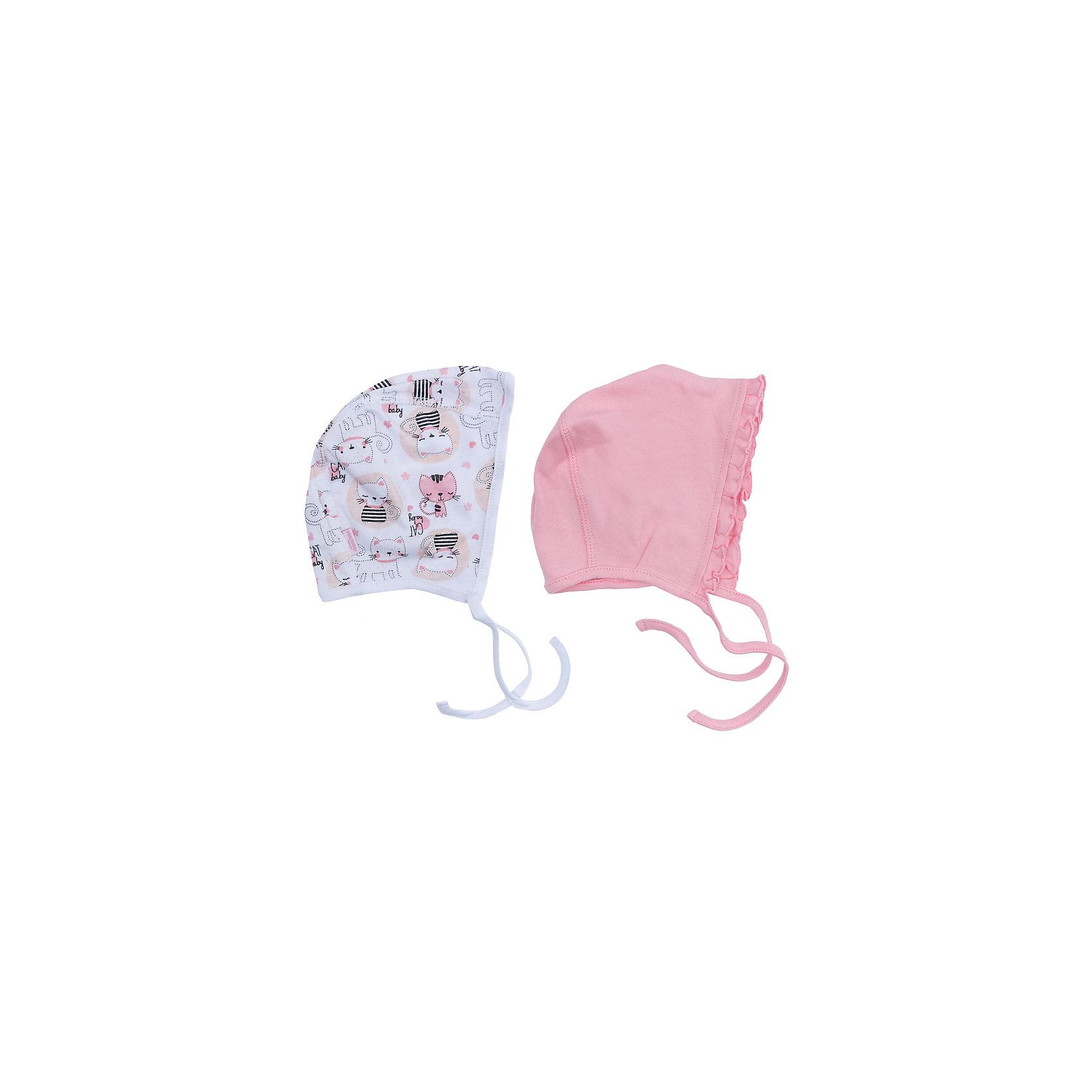 Чепчик, 2 шт для девочки PlayTodayШапочки<br>Чепчик, 2 шт для девочки PlayToday<br>Чепчики на завязках из мягкой натуральной ткани подойдут Вашему ребенку для прогулок в прохладную погоду. Плотно прилегают к голове. Одна из моделей декорирована оборкой.<br>Состав:<br>100% хлопок<br><br>Ширина мм: 157<br>Глубина мм: 13<br>Высота мм: 119<br>Вес г: 200<br>Цвет: белый<br>Возраст от месяцев: 3<br>Возраст до месяцев: 6<br>Пол: Женский<br>Возраст: Детский<br>Размер: 44,40,42<br>SKU: 5408535