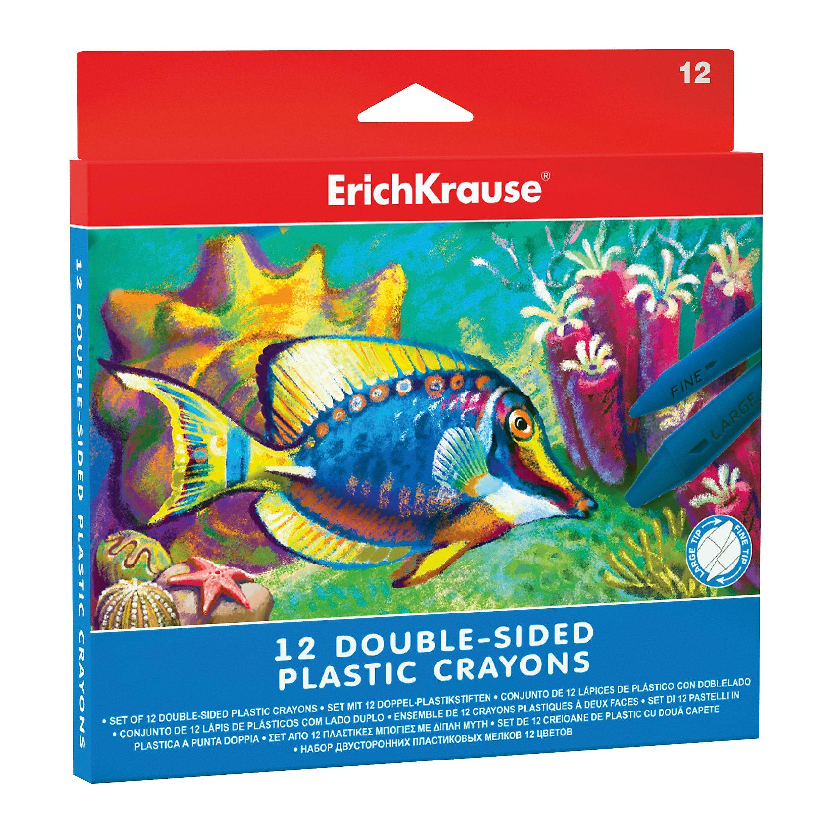 Двухсторонние пластиковые мелки ArtBerry, 12 цветовМасляные и восковые мелки<br>Характеристики товара:<br><br>• материал упаковки: пластик <br>• количество цветов: 12<br>• треугольная форма<br>• длина: 12 см<br>• возраст: от 3 лет<br>• вес: 137 г<br>• габариты упаковки: 16,3х16,4х1,3 см<br>• страна производитель: Китай<br><br>Мелки в пластиковой упаковке – альтернатива классическим мелкам. К преимуществам относится полное отсутствие возможности испачкать ручки. Данная модель двухсторонняя: в одном стержне находятся одновременно 2 цвета.<br><br>Двухсторонние пластиковые мелки ArtBerry, 12 цветов можно купить в нашем интернет-магазине.<br><br>Ширина мм: 163<br>Глубина мм: 164<br>Высота мм: 13<br>Вес г: 137<br>Возраст от месяцев: 36<br>Возраст до месяцев: 2147483647<br>Пол: Унисекс<br>Возраст: Детский<br>SKU: 5409248
